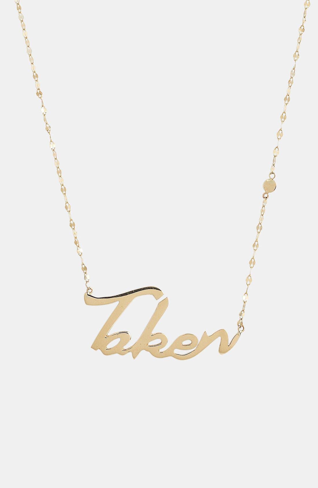 Alternate Image 2  - Lana Jewelry 'Taken' Charm Necklace