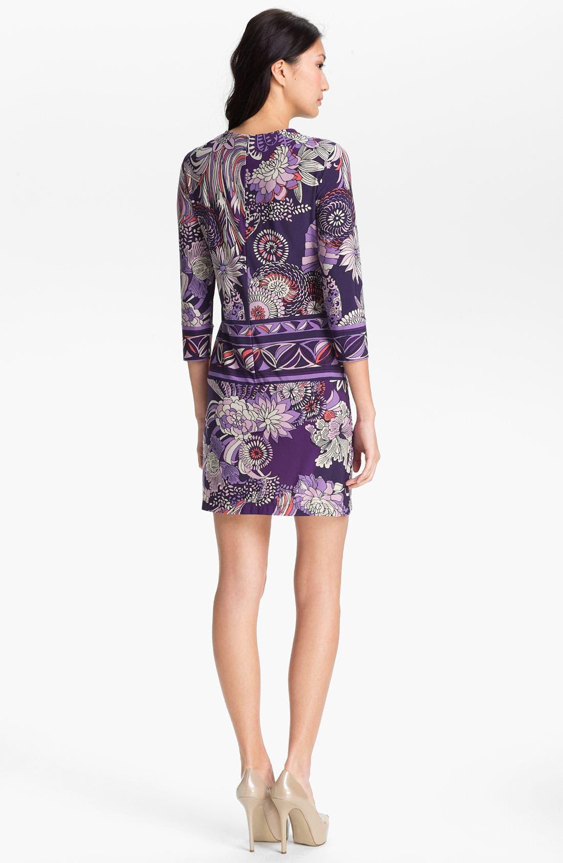 Alternate Image 2  - Donna Morgan 'Julie' Print Sheath Dress