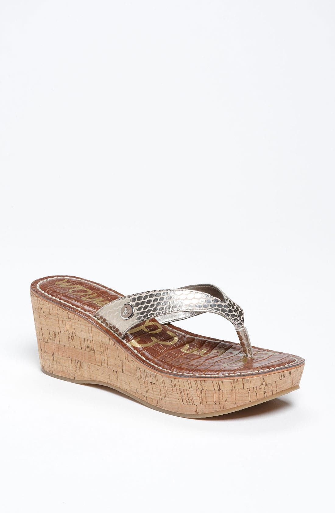 Main Image - Sam Edelman 'Romy' Wedge Sandal (Women)