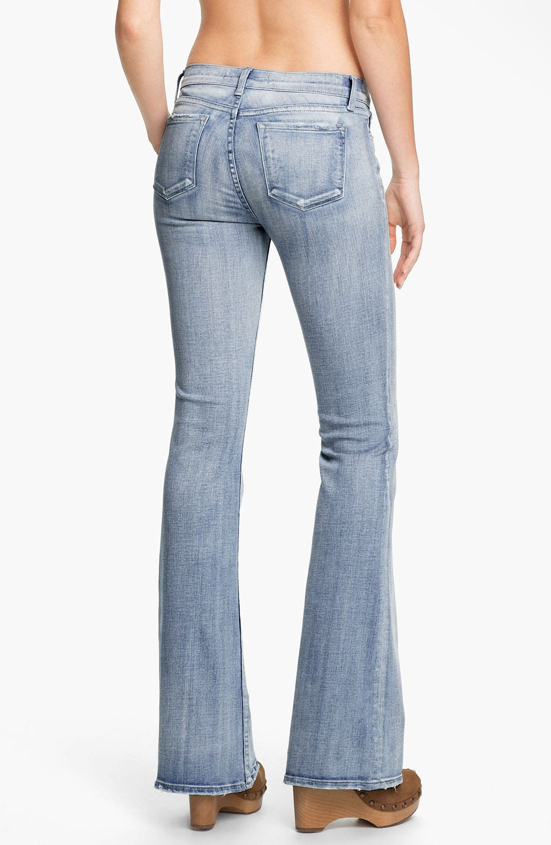 Alternate Image 2  - J Brand 'Babe' Flare Leg Jeans (Afterlife)
