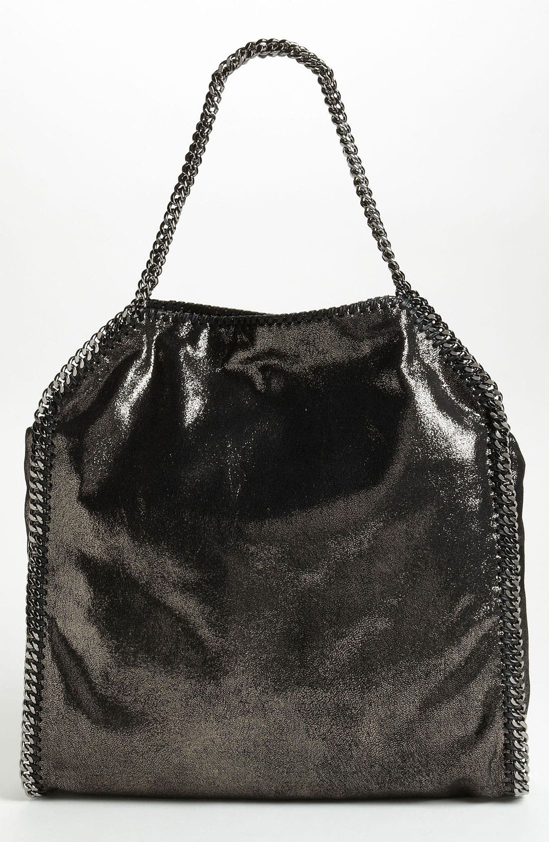 Alternate Image 4  - Stella McCartney 'Falabella - Large' Metallic Tote