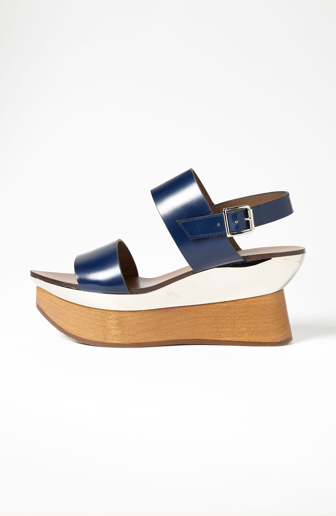 Alternate Image 4  - Marni Double Band Wedge Sandal