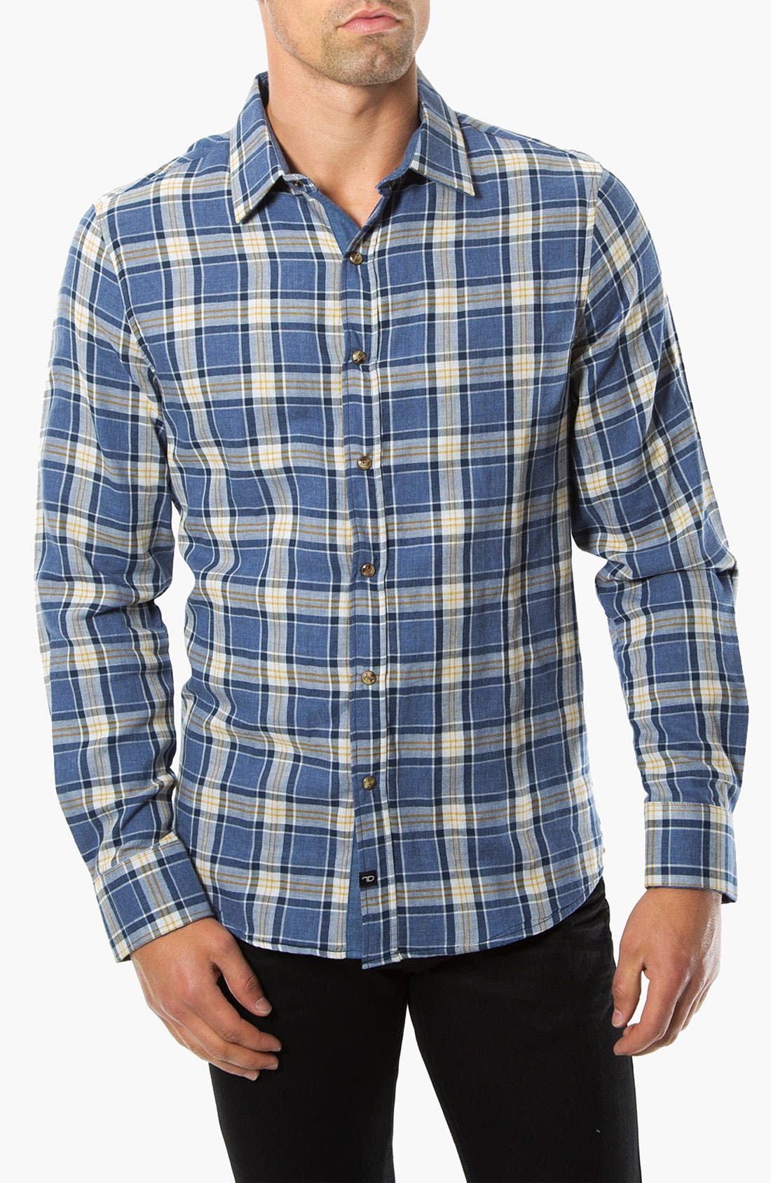 Alternate Image 1 Selected - 7 Diamonds 'Wilderness' Woven Sport Shirt