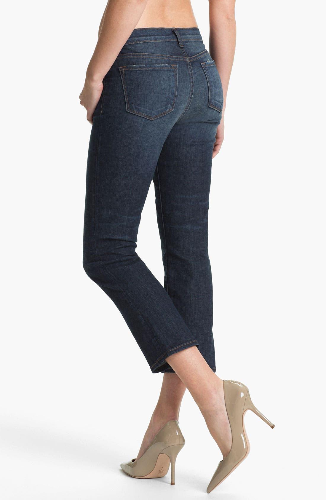 Alternate Image 2  - J Brand 'Sylvie' Crop Flare Leg Jeans (East Wick)