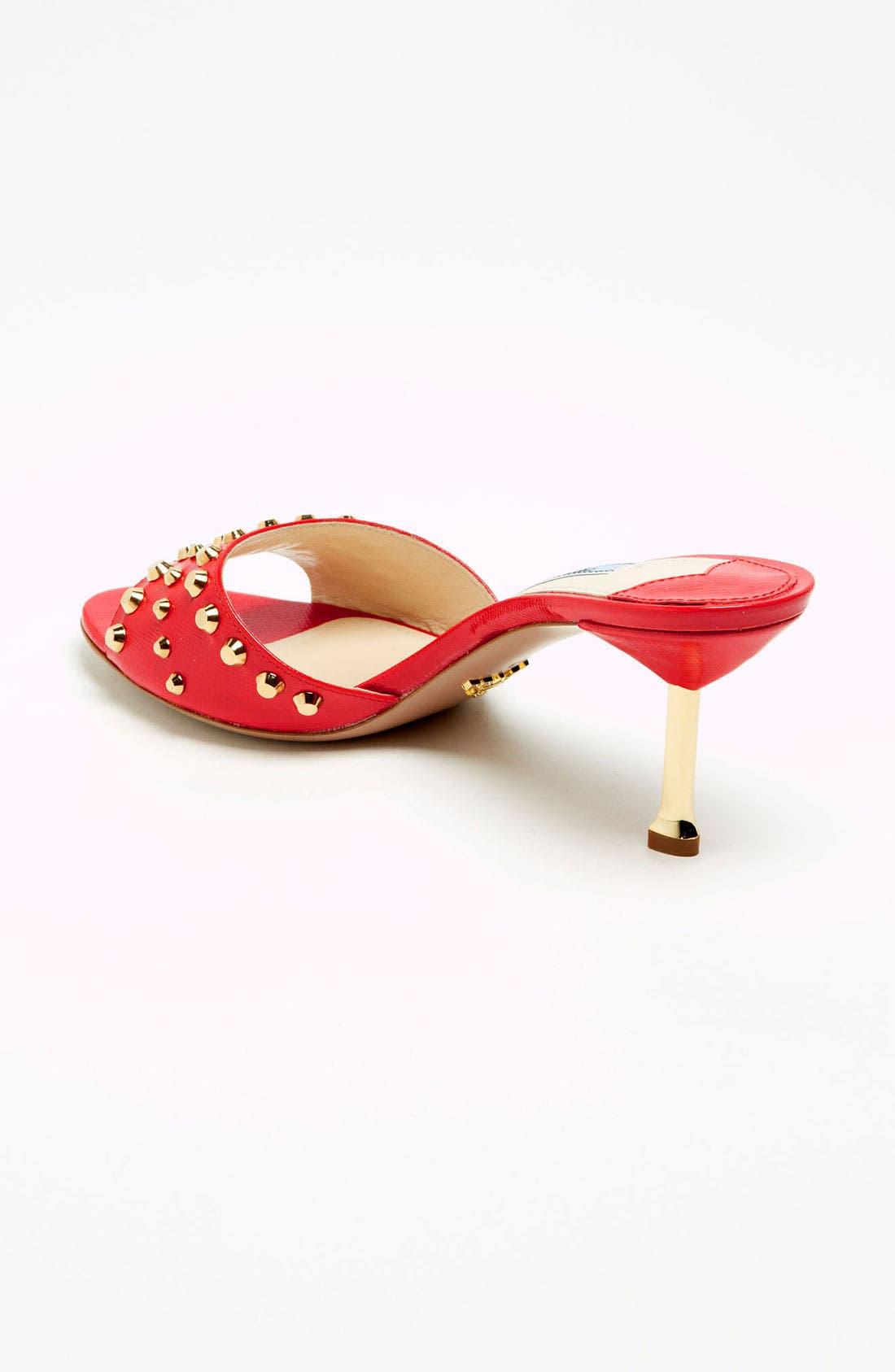 Alternate Image 2  - Prada Studded Slide Sandal