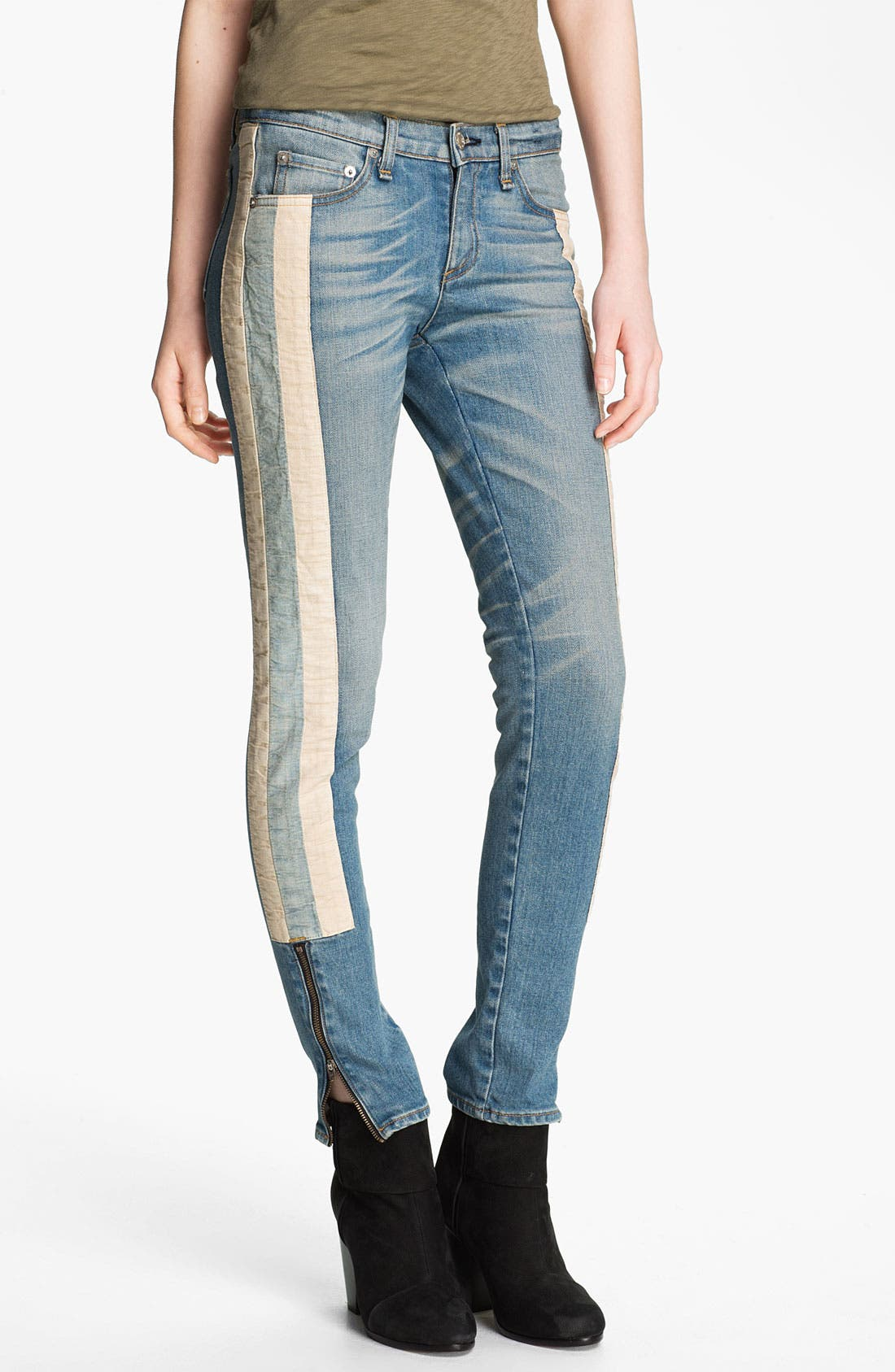Alternate Image 1 Selected - rag & bone/JEAN 'The Skinny Racer' Jeans