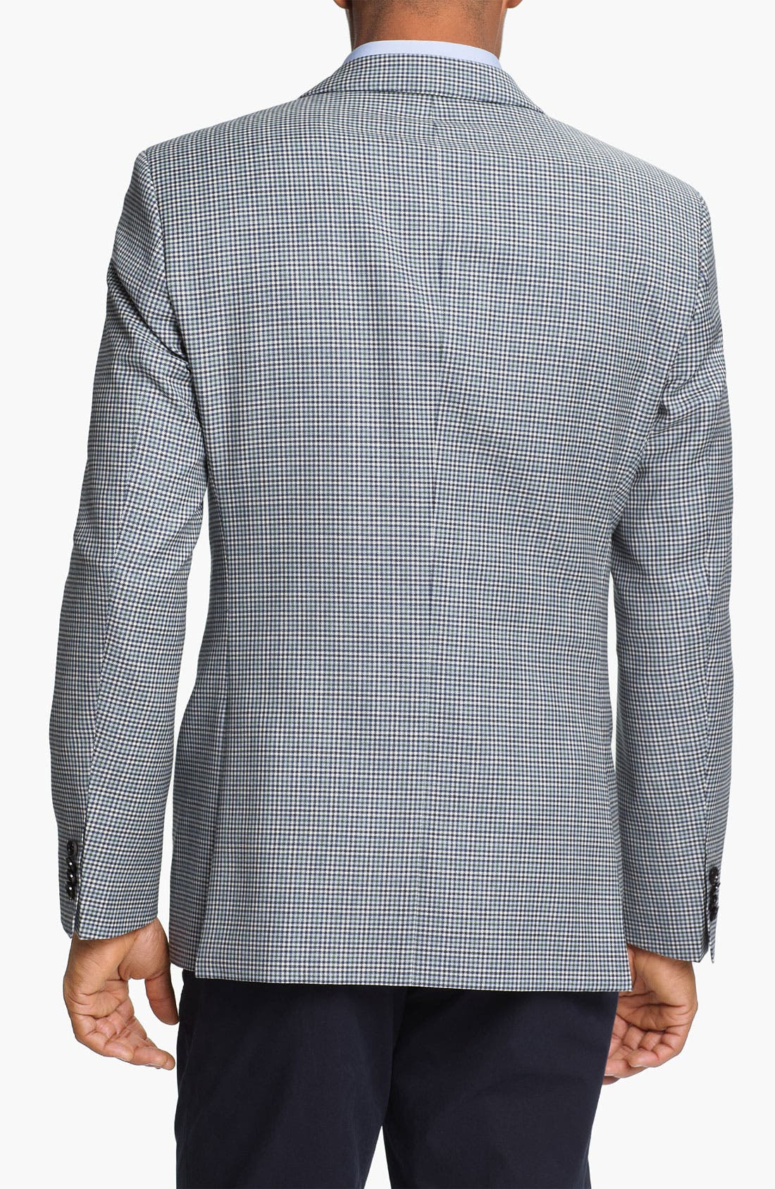 Alternate Image 2  - BOSS HUGO BOSS 'James' Trim Fit Check Sportcoat