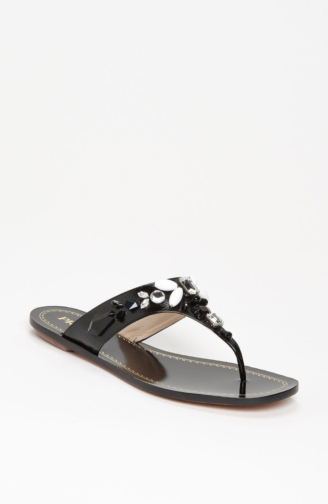 Alternate Image 1 Selected - Prada Thong Sandal