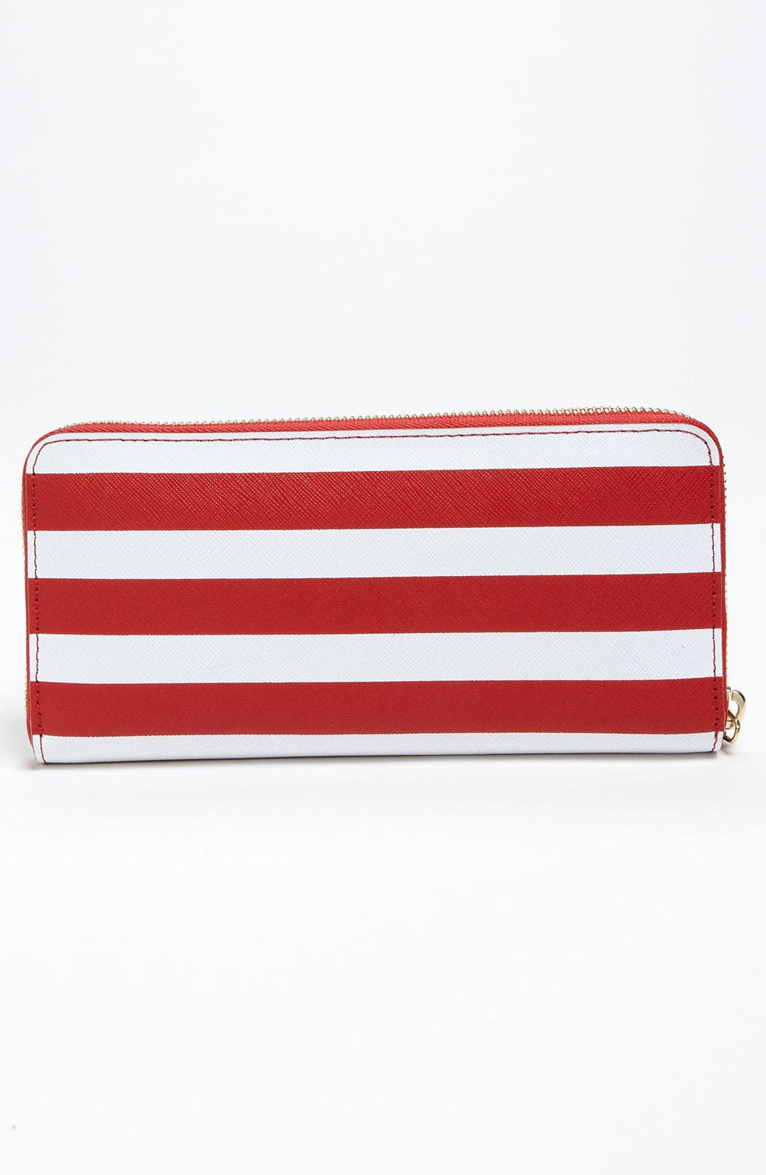 Alternate Image 3  - MICHAEL Michael Kors Striped Continental Wallet