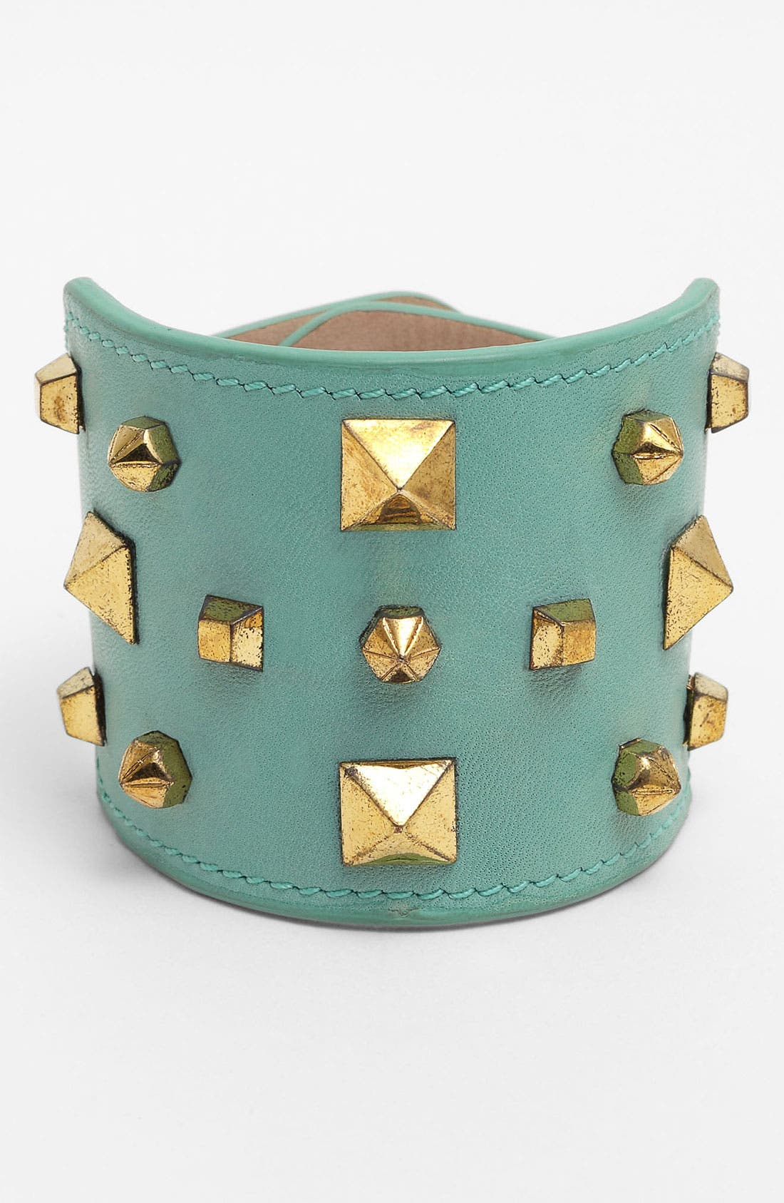 Alternate Image 1 Selected - Vince Camuto Studded Leather Bracelet