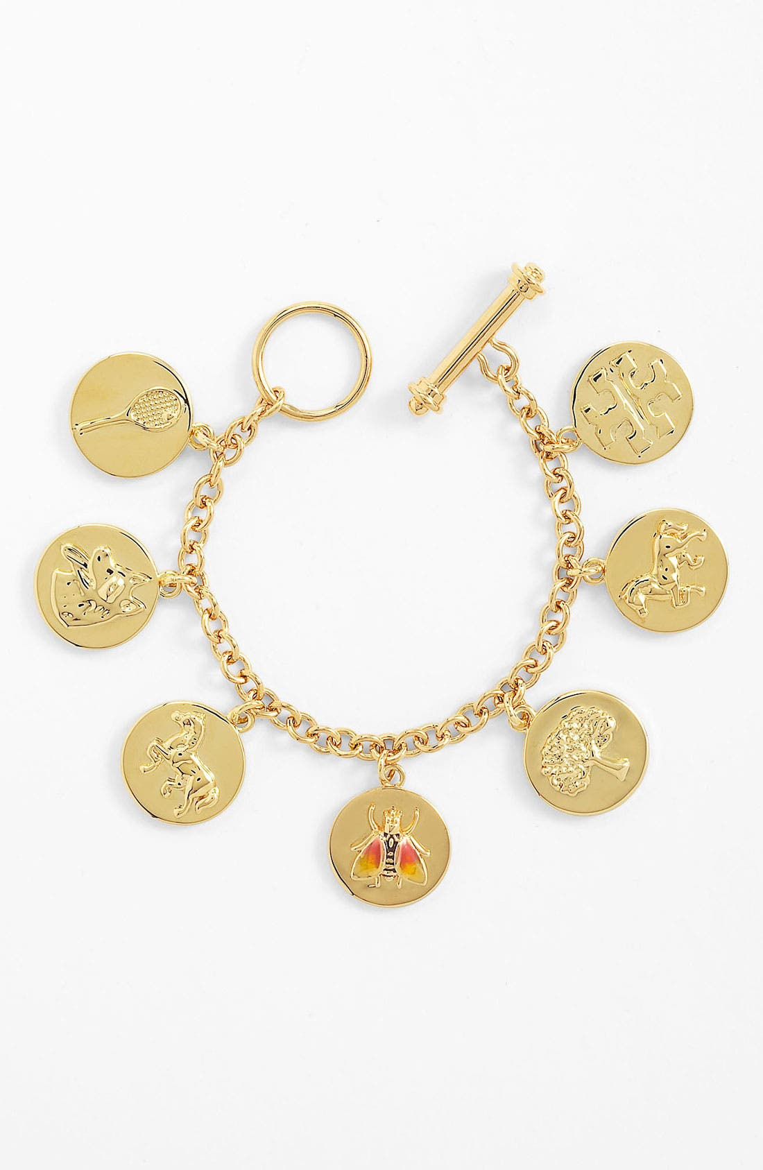 Alternate Image 1 Selected - Tory Burch 'Buddy' Charm Bracelet