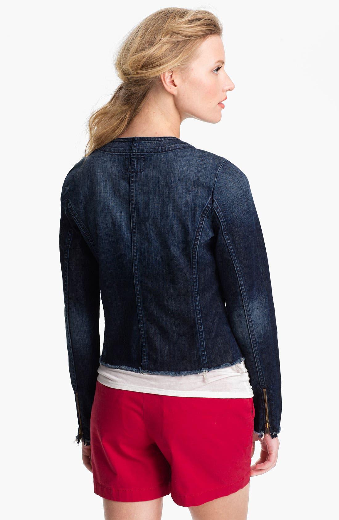 Alternate Image 2  - Lucky Brand 'Adamson' Denim Jacket