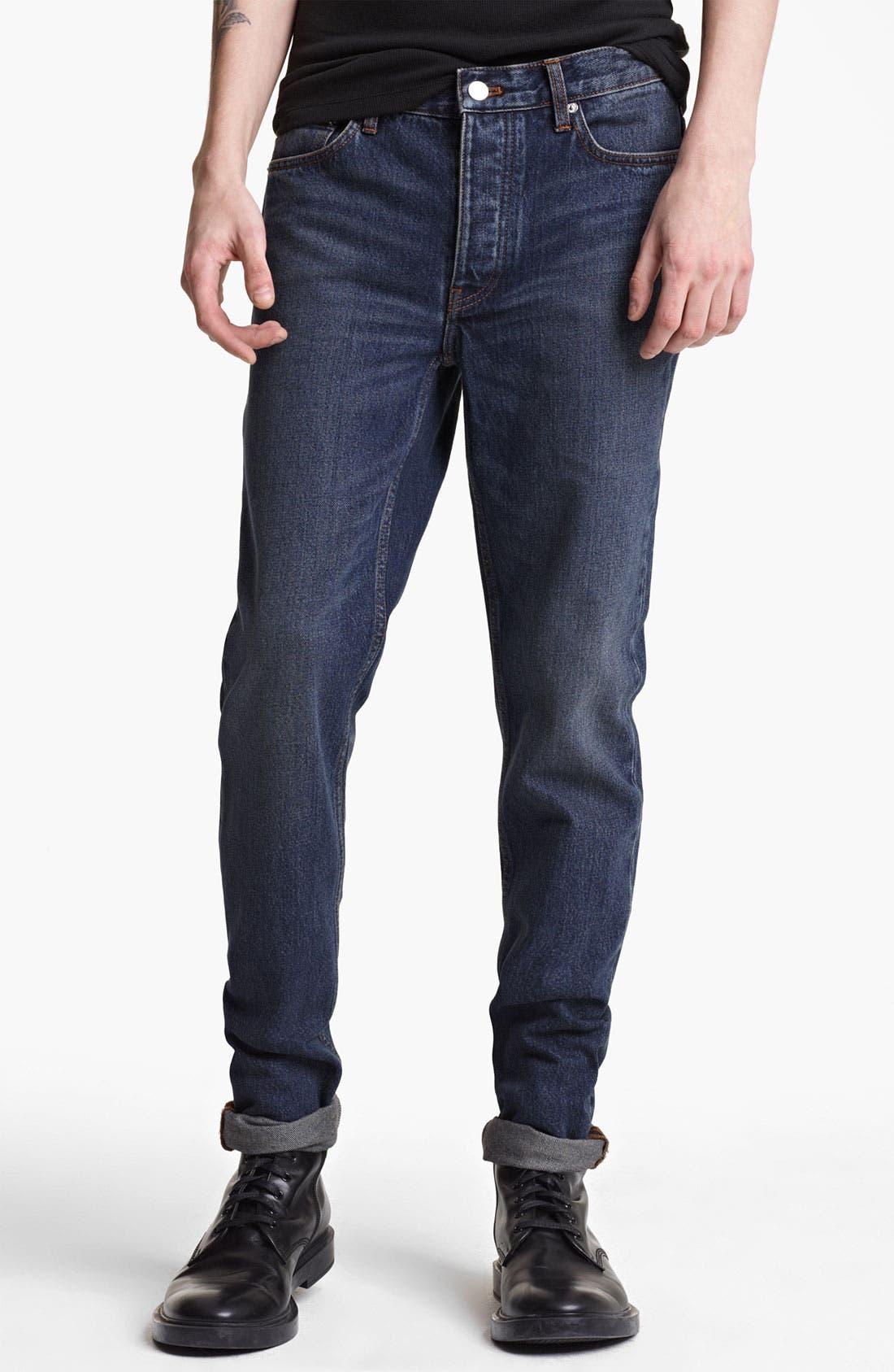 Main Image - BLK DNM 'Jeans 9' Straight Leg Jeans (Stone Blue)