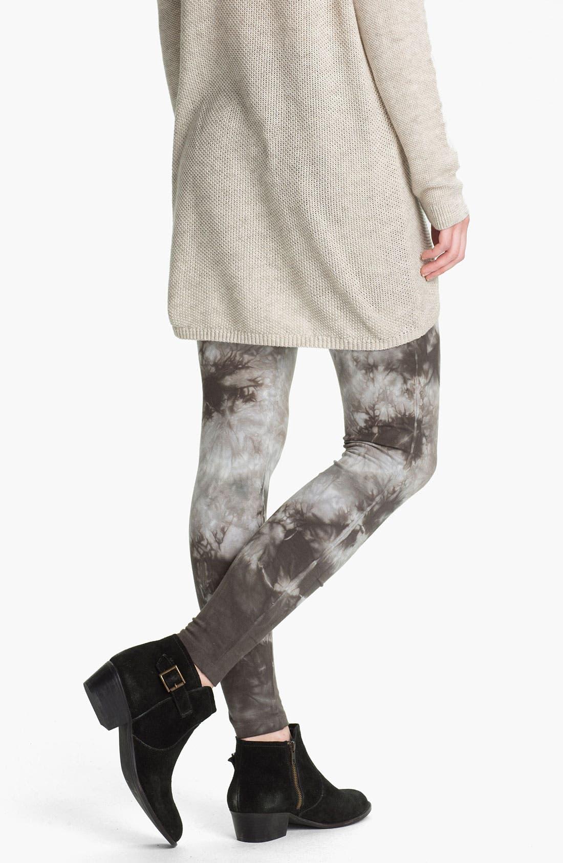 Alternate Image 2  - BP. Tie Dye Leggings (Juniors)