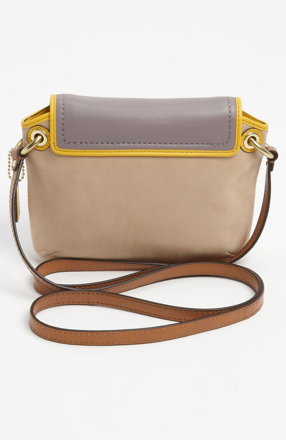 Alternate Image 4  - COACH 'Poppy - Colorblock' Leather Crossbody Bag