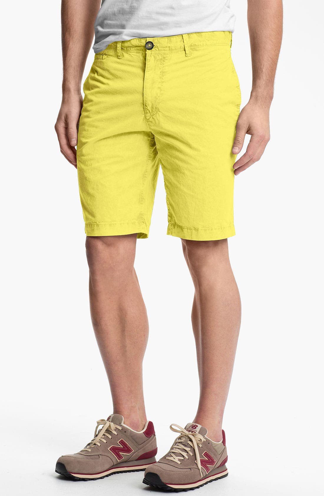 Main Image - Original Penguin Garment Dyed Shorts