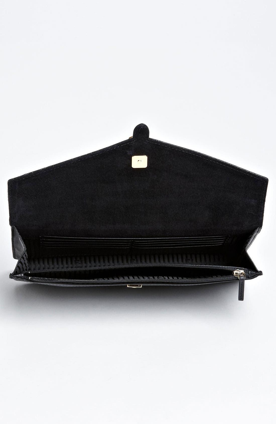 Alternate Image 3  - Fendi Leather Envelope Clutch