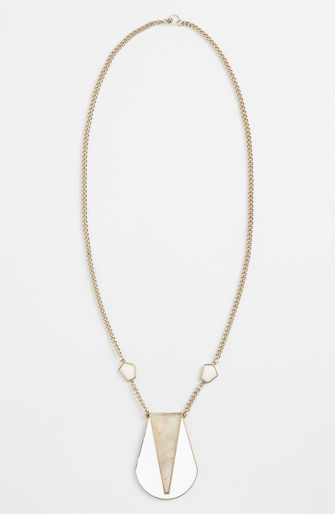 Main Image - Robert Rose 'Deco' Shell Pendant Necklace