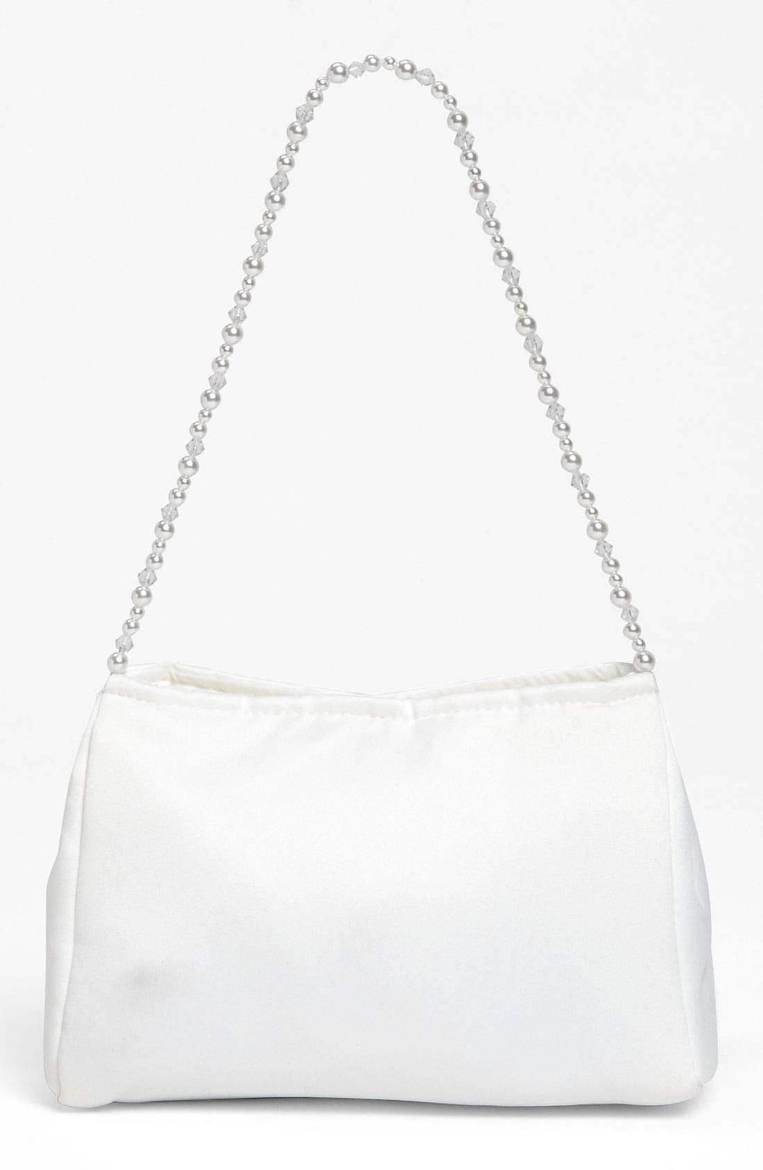 Alternate Image 4  - Adriana Cupelli Beaded Satin Purse (Girls)