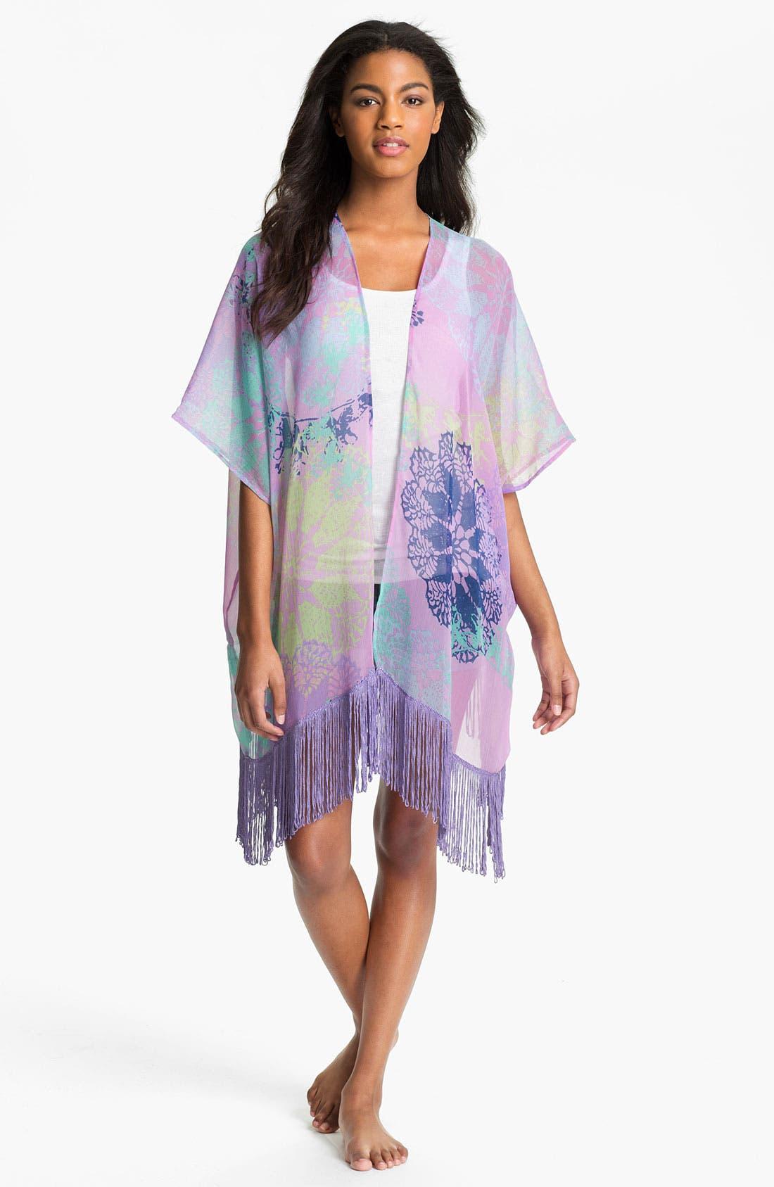 Alternate Image 1 Selected - Sol & Mer 'Pollen Stencil' Kimono
