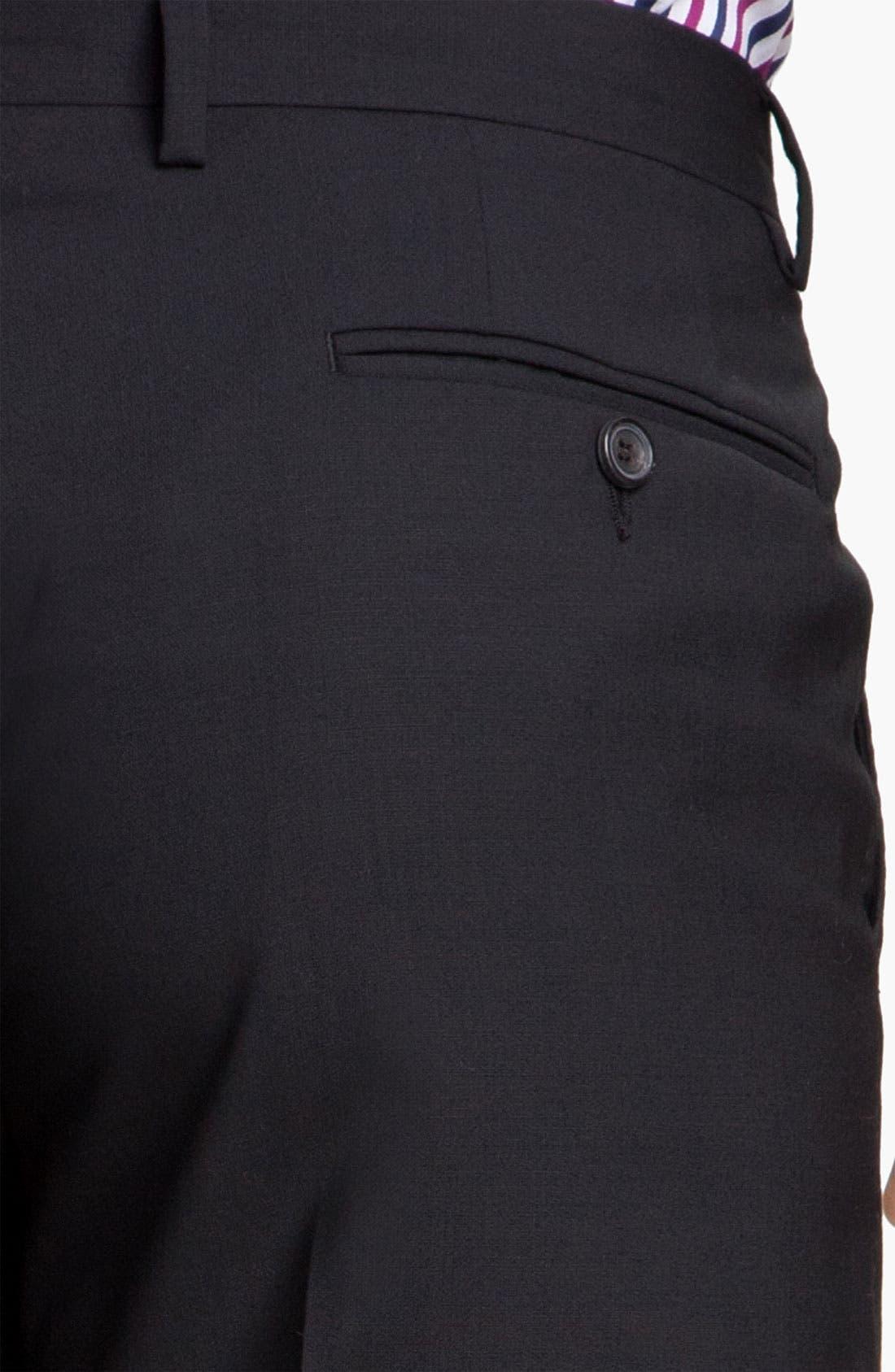 Alternate Image 6  - Paul Smith London Stretch Wool Suit