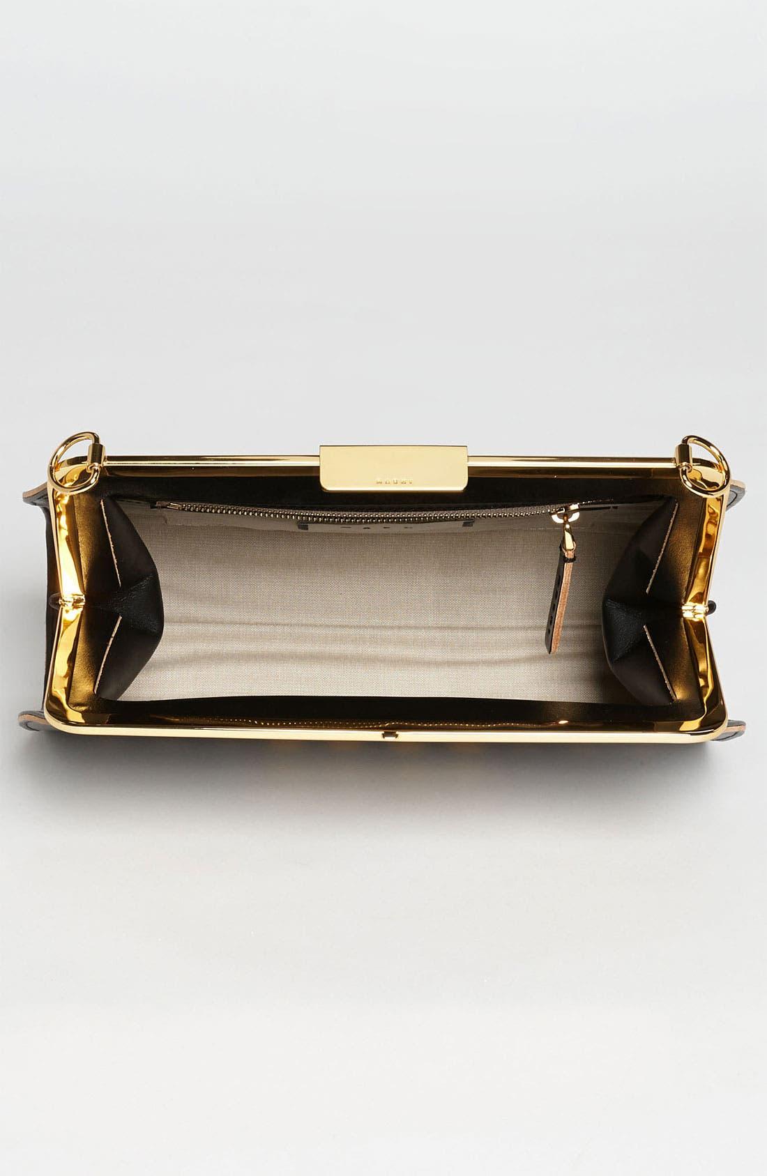 Alternate Image 2  - Marni Polka Dot Frame Handbag