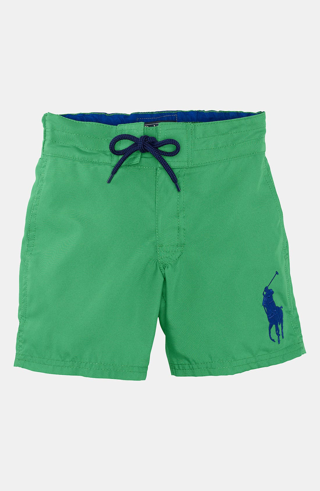 Main Image - Ralph Lauren Swim Trunks (Toddler)