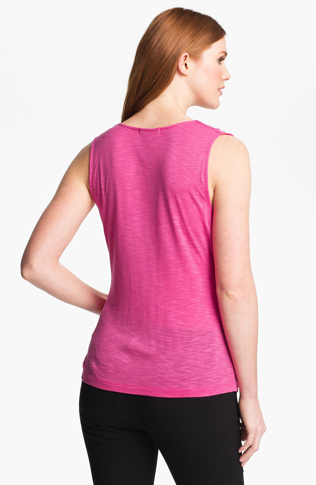 Alternate Image 2  - Adrianna Papell Sleeveless Jersey Top