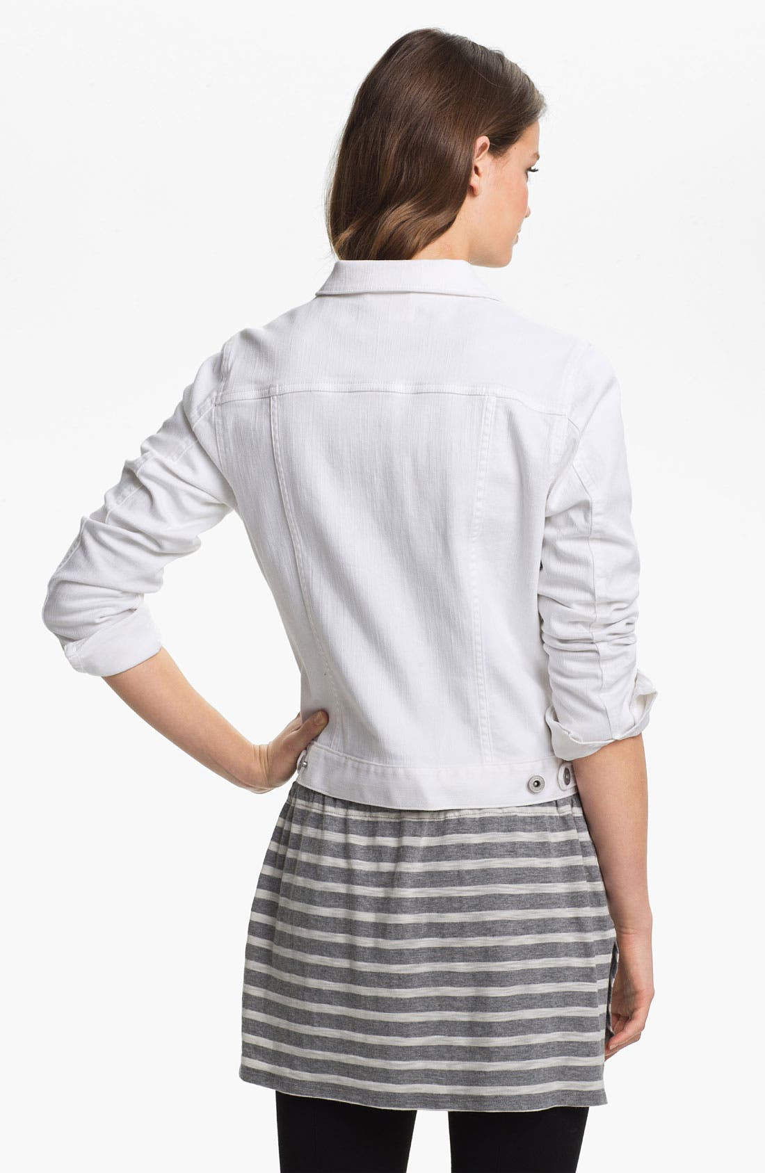 Alternate Image 2  - Two by Vince Camuto Denim Jacket
