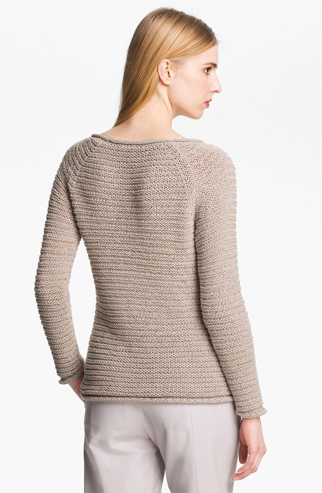 Alternate Image 3  - Halston Heritage Raglan Sweater