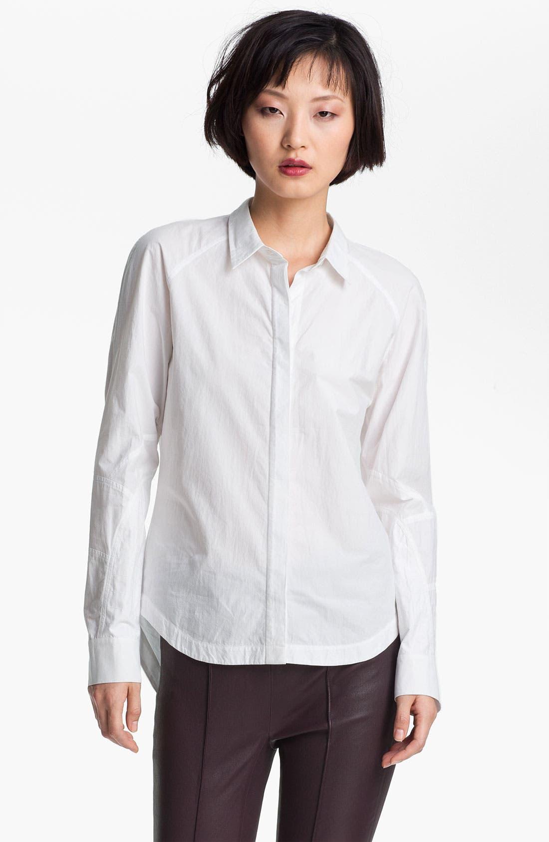 Alternate Image 2  - 3.1 Phillip Lim Shirt & Leather Pants