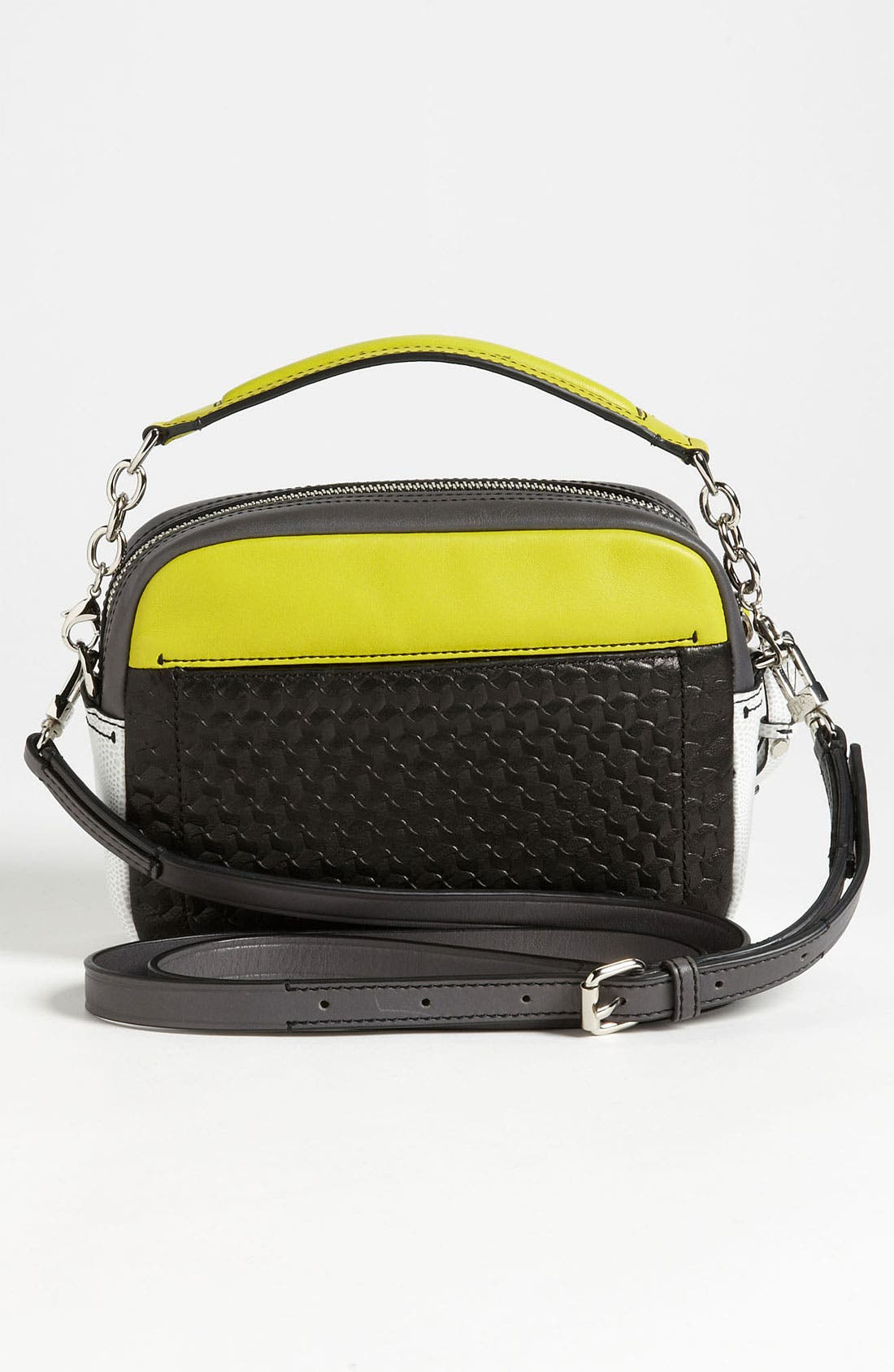 Alternate Image 4  - Diane von Furstenberg 'Milo - Mini' Printed Leather Crossbody Bag