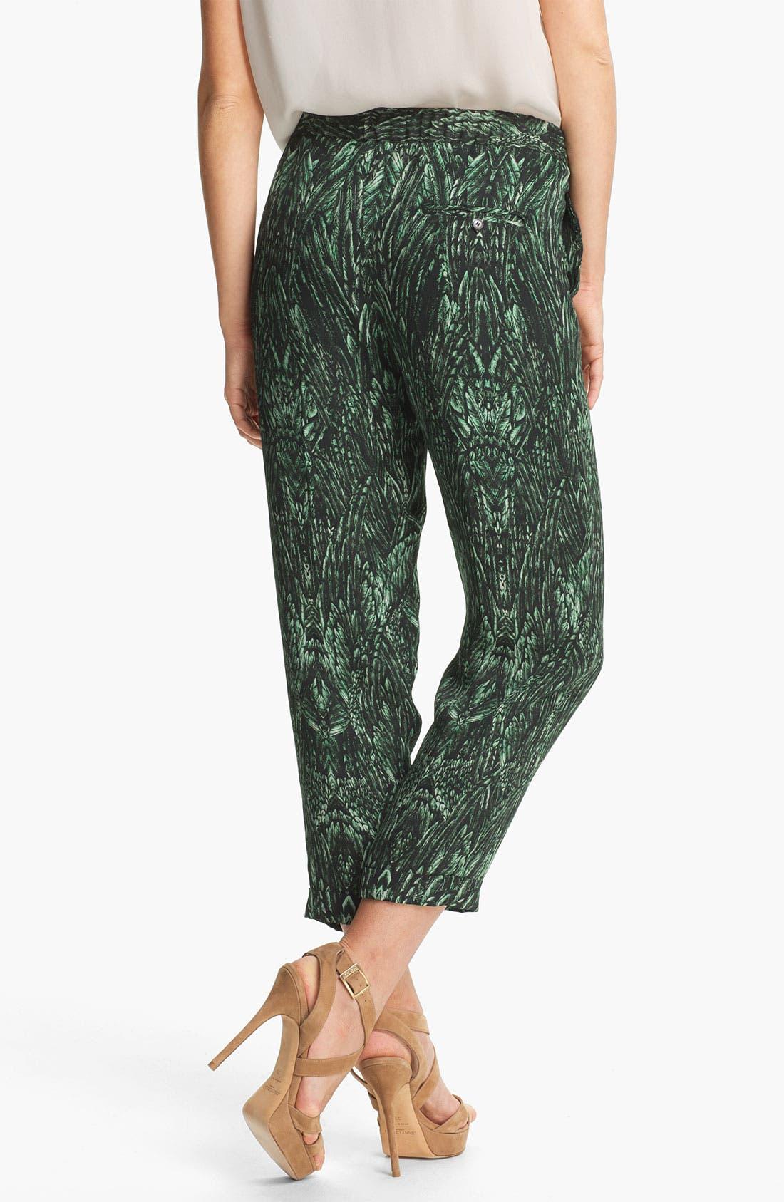 Alternate Image 2  - Haute Hippie Print Drawstring Trousers