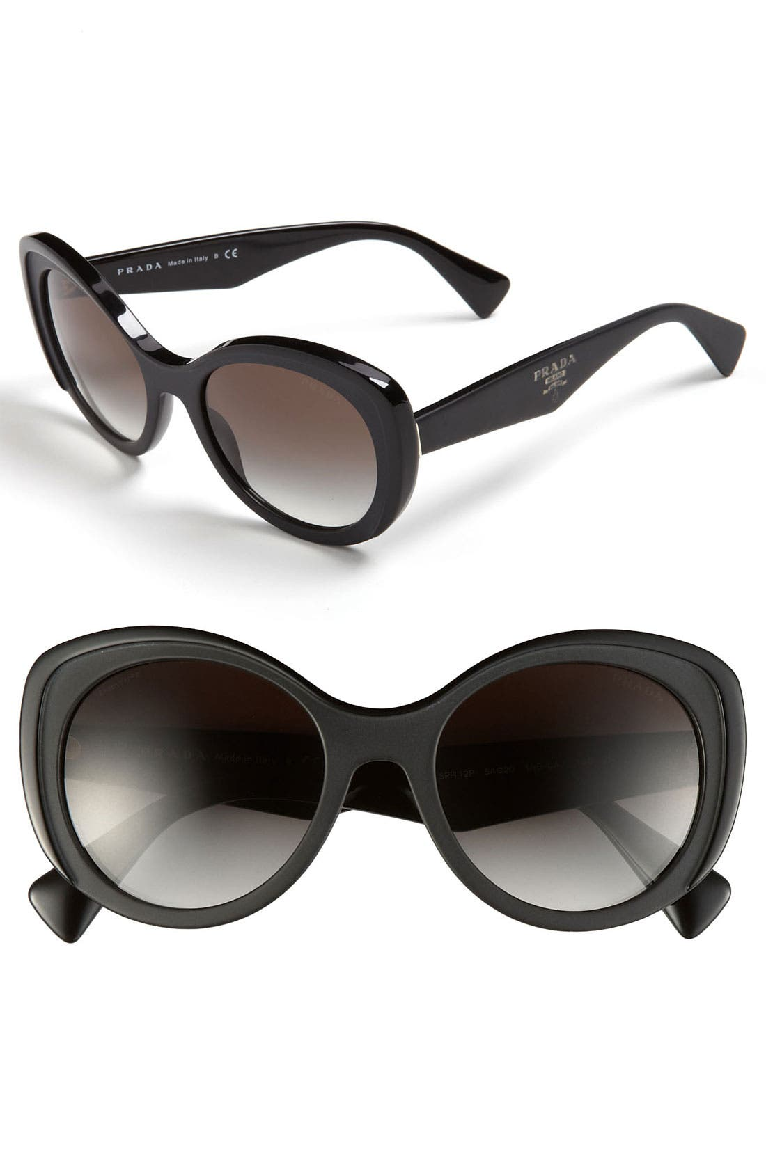 Alternate Image 1 Selected - Prada 54mm Butterfly Sunglasses
