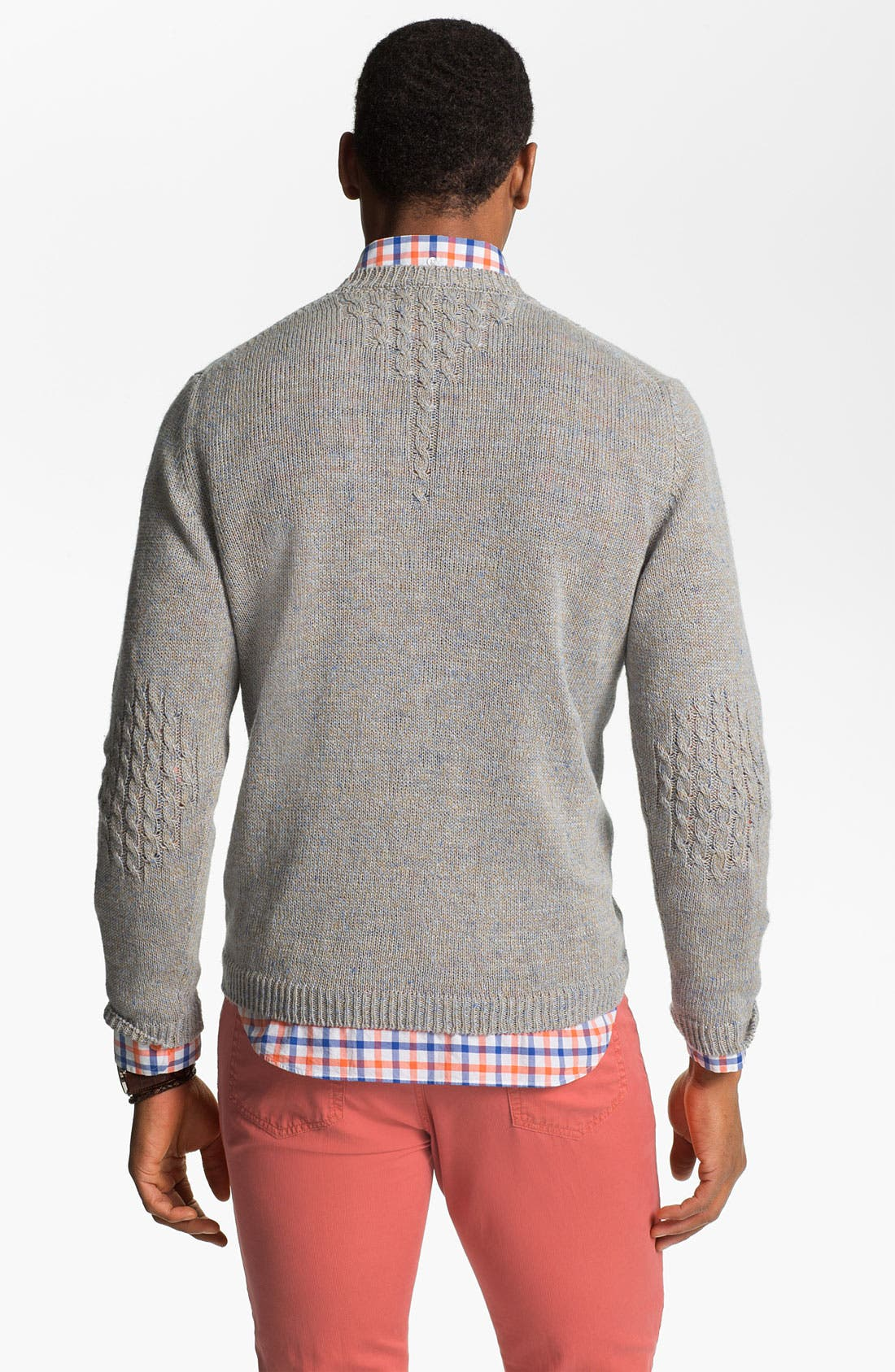 Alternate Image 2  - Hickey Freeman 'Beach' Linen Blend Sweater