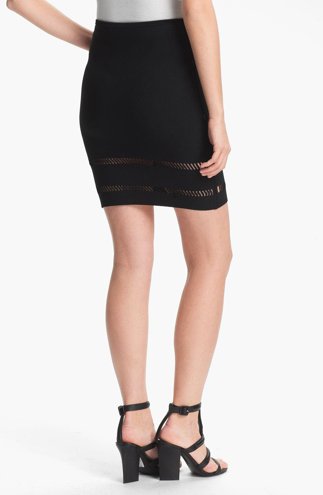 Alternate Image 2  - Alexander Wang Suspension Detail Pencil Skirt