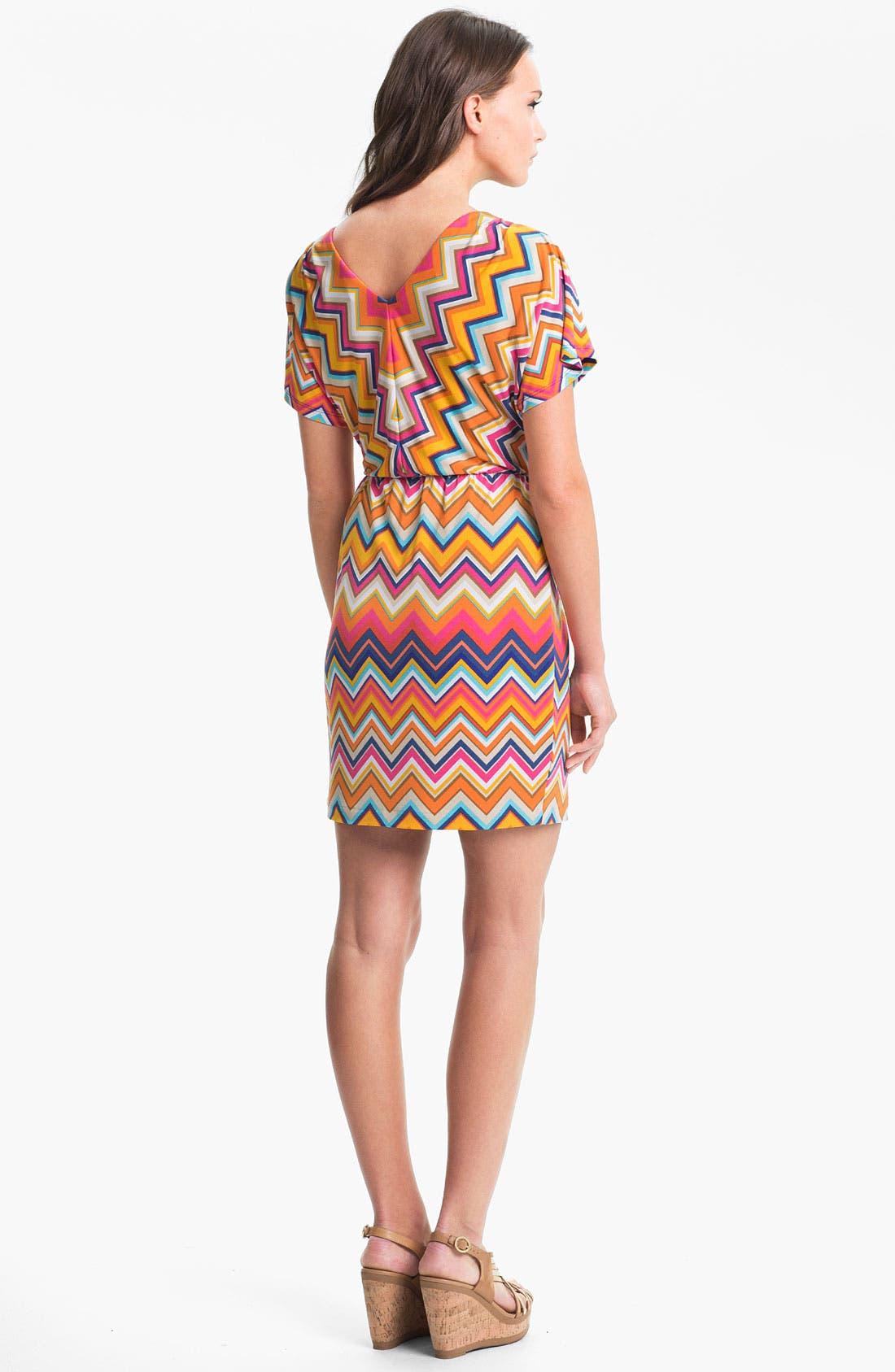 Alternate Image 2  - Trina Turk 'Mini Break' Stripe Jersey Dress
