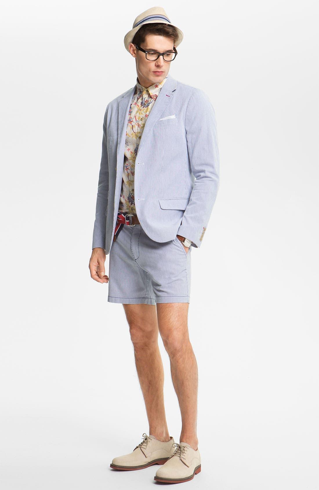 Alternate Image 2  - Original Penguin Stripe Pincord Shorts