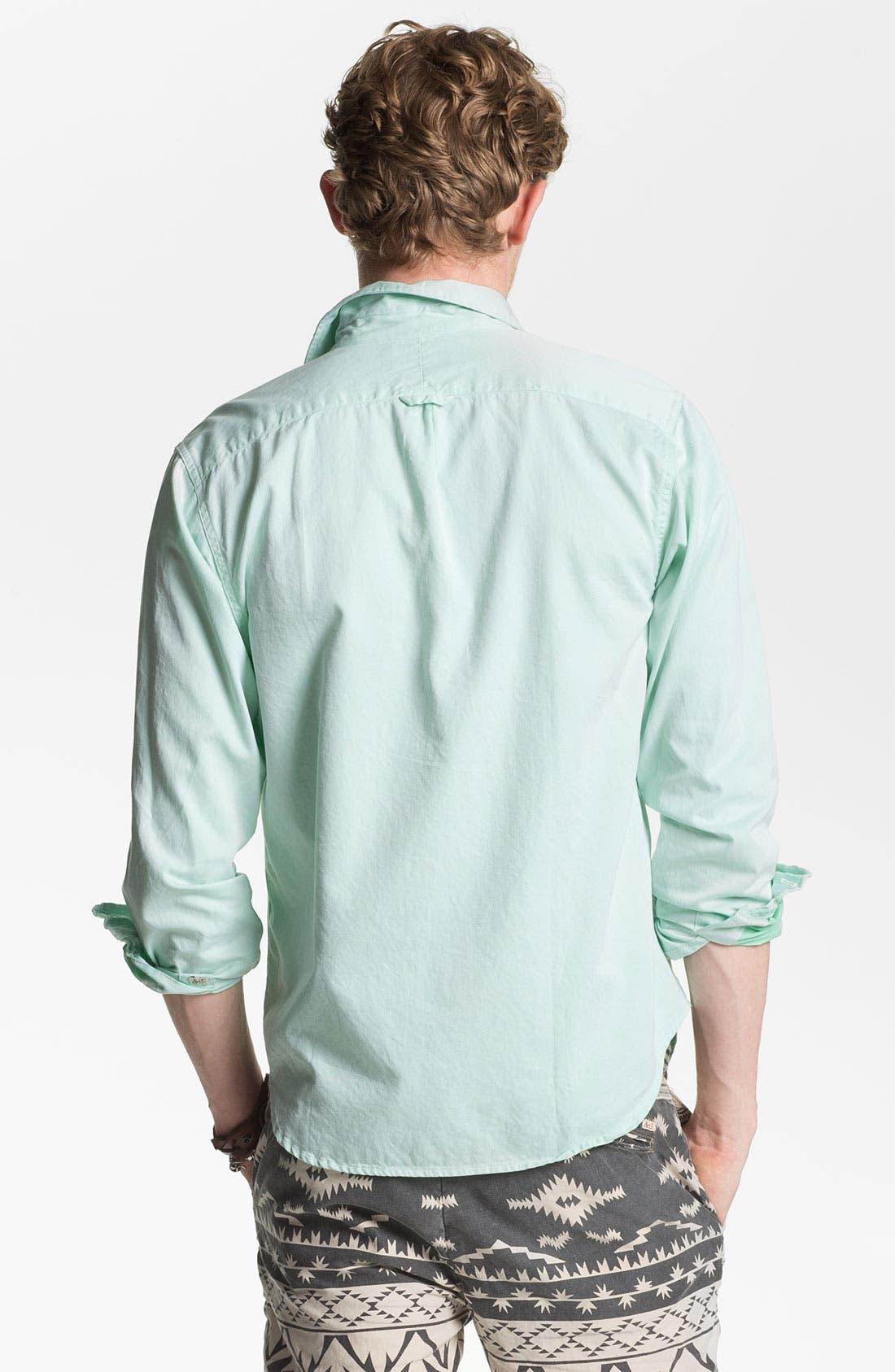 Alternate Image 2  - Scotch & Soda Cotton Poplin Sport Shirt