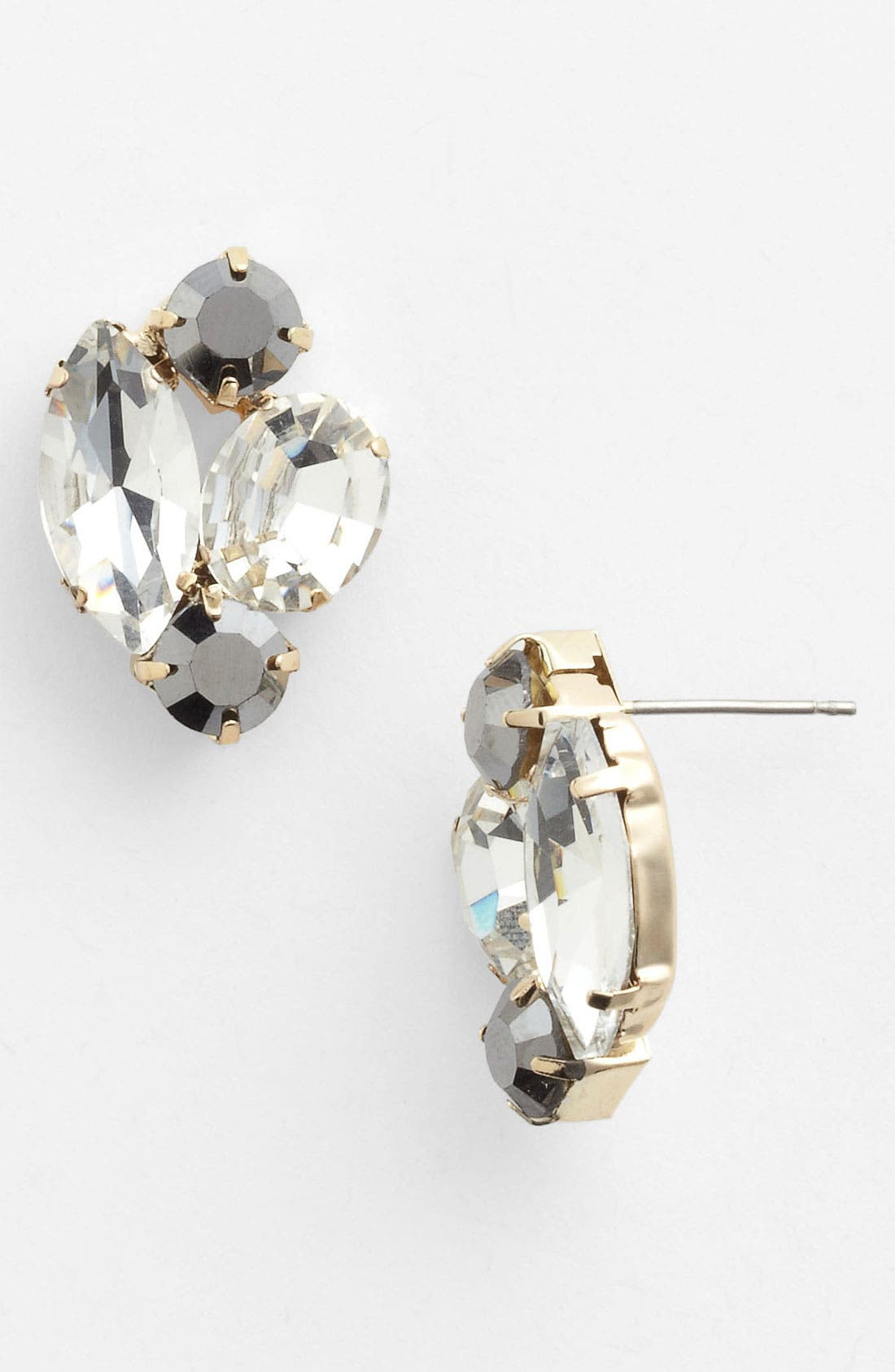 Alternate Image 1 Selected - Stephan & Co. Rhinestone Stud Earrings