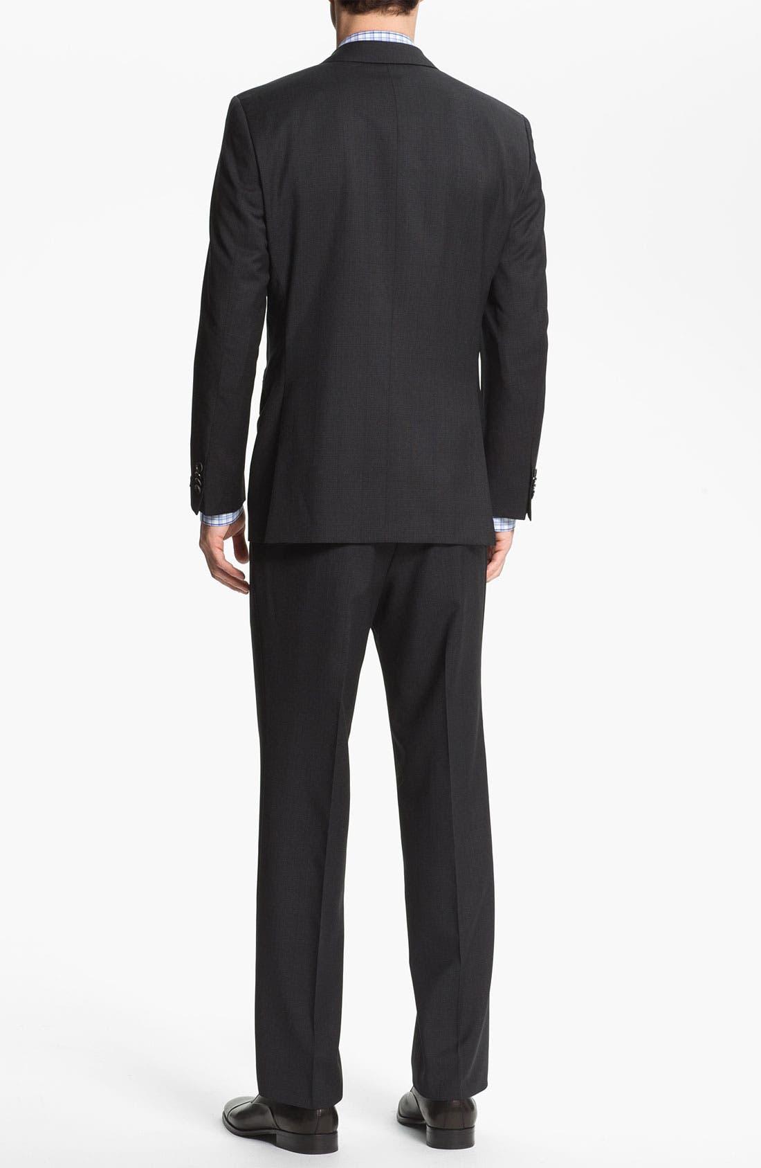 Alternate Image 3  - BOSS Black 'Pasini/Movie' Plaid Wool Suit