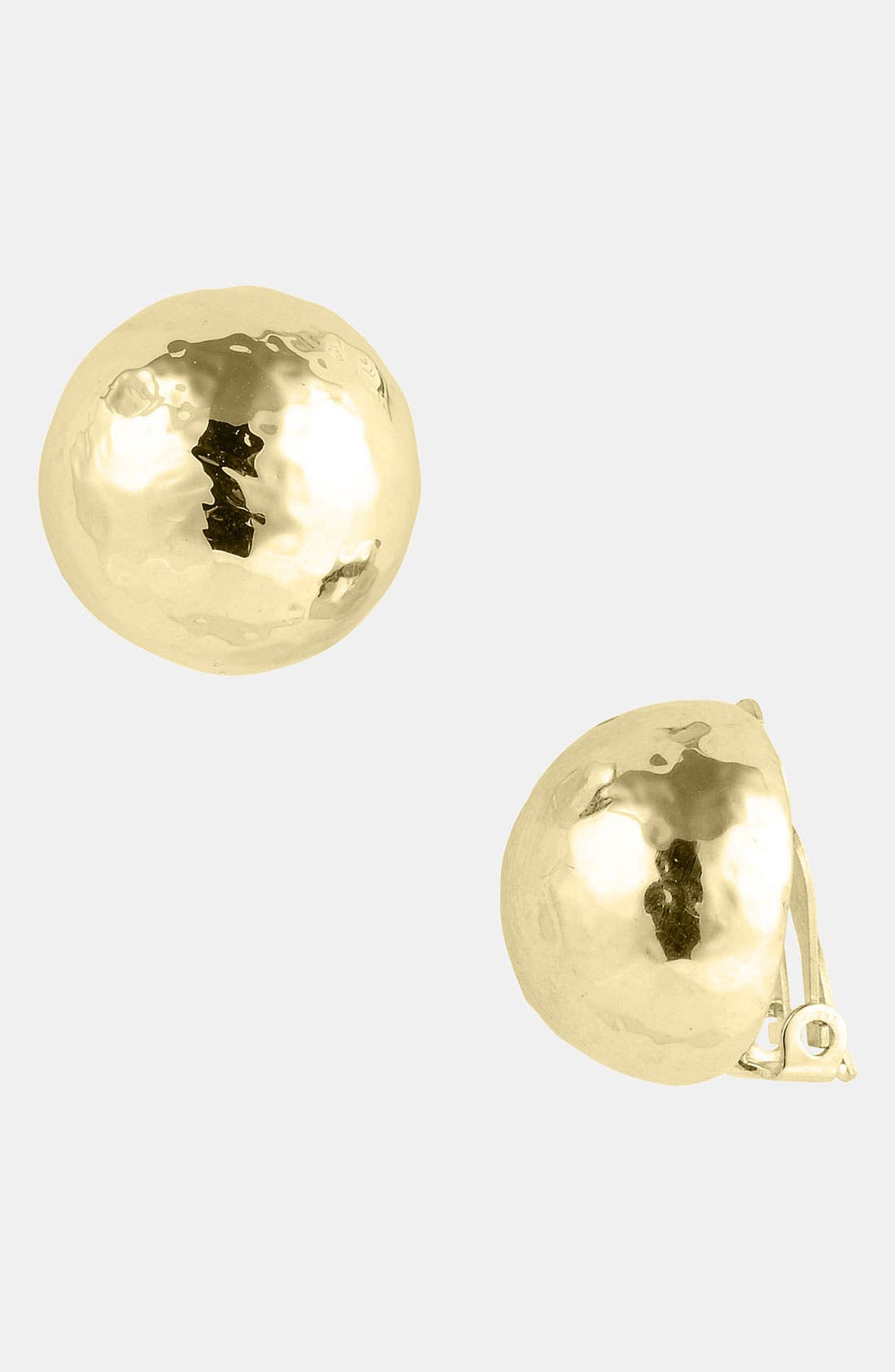 Alternate Image 1 Selected - Ippolita 'Glamazon' 18k Gold Clip Earrings