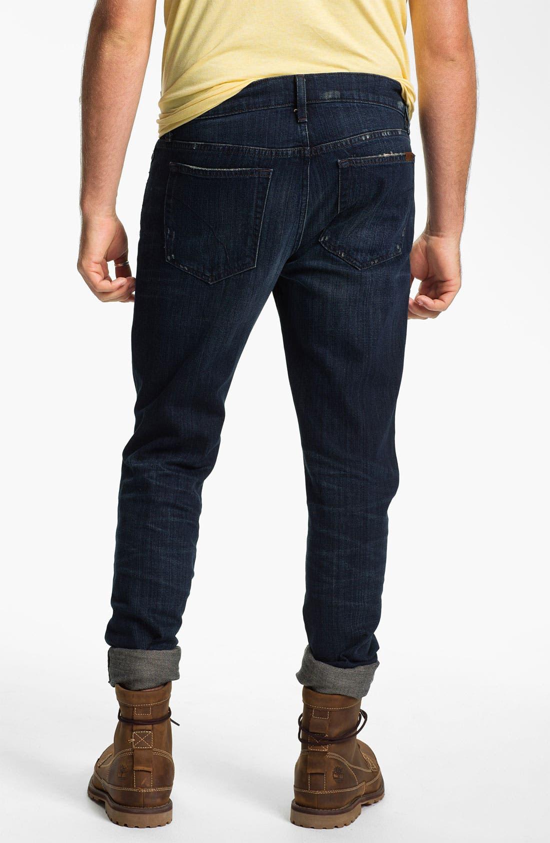Alternate Image 2  - Joe's 'Brixton' Slim Straight Leg Jeans (Macer)