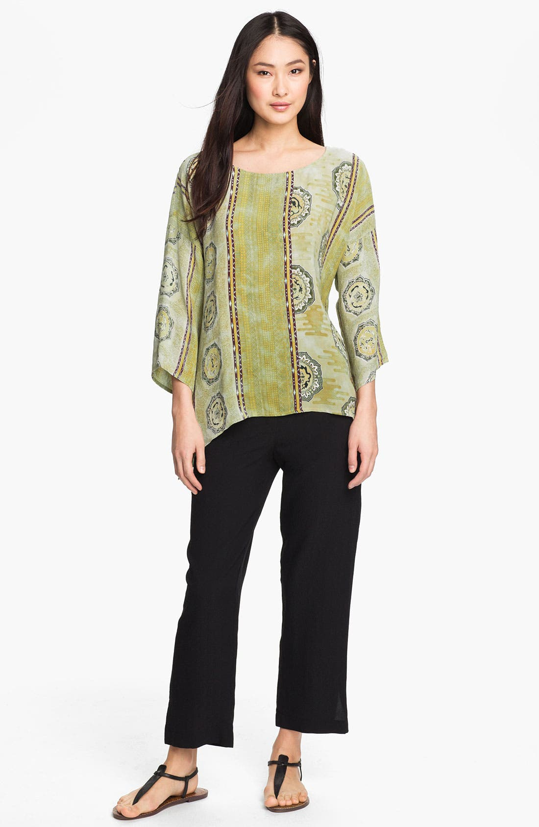Alternate Image 4  - Citron Silk Blouse