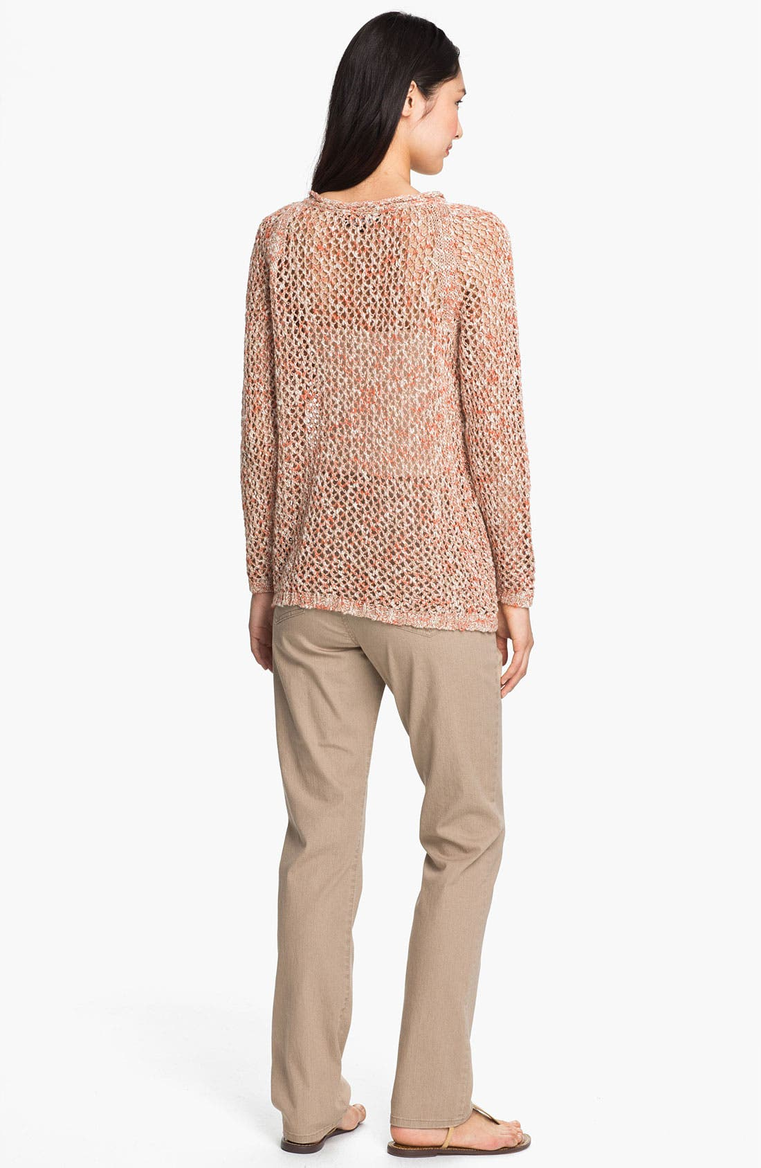Alternate Image 5  - Lafayette 148 New York Open Stitch Sweater