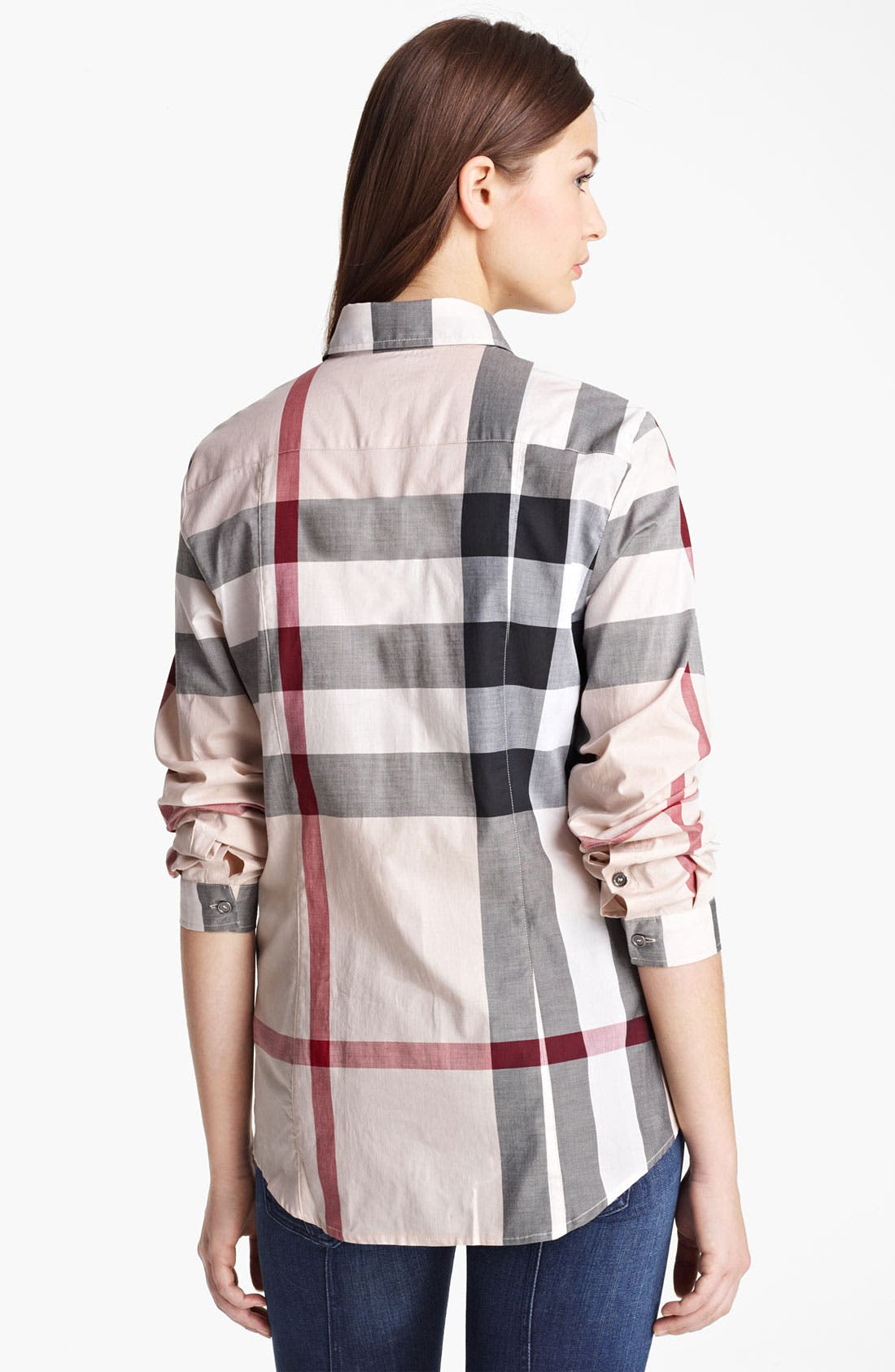 Alternate Image 2  - Burberry Brit Check Woven Shirt