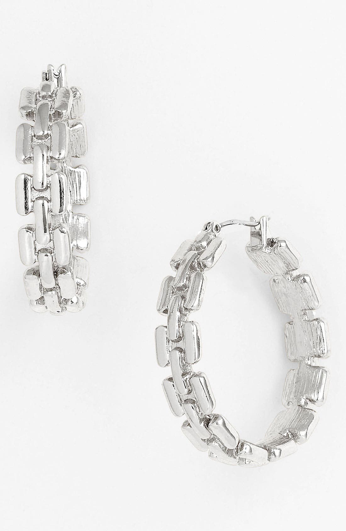 Main Image - Anne Klein Hoop Earrings