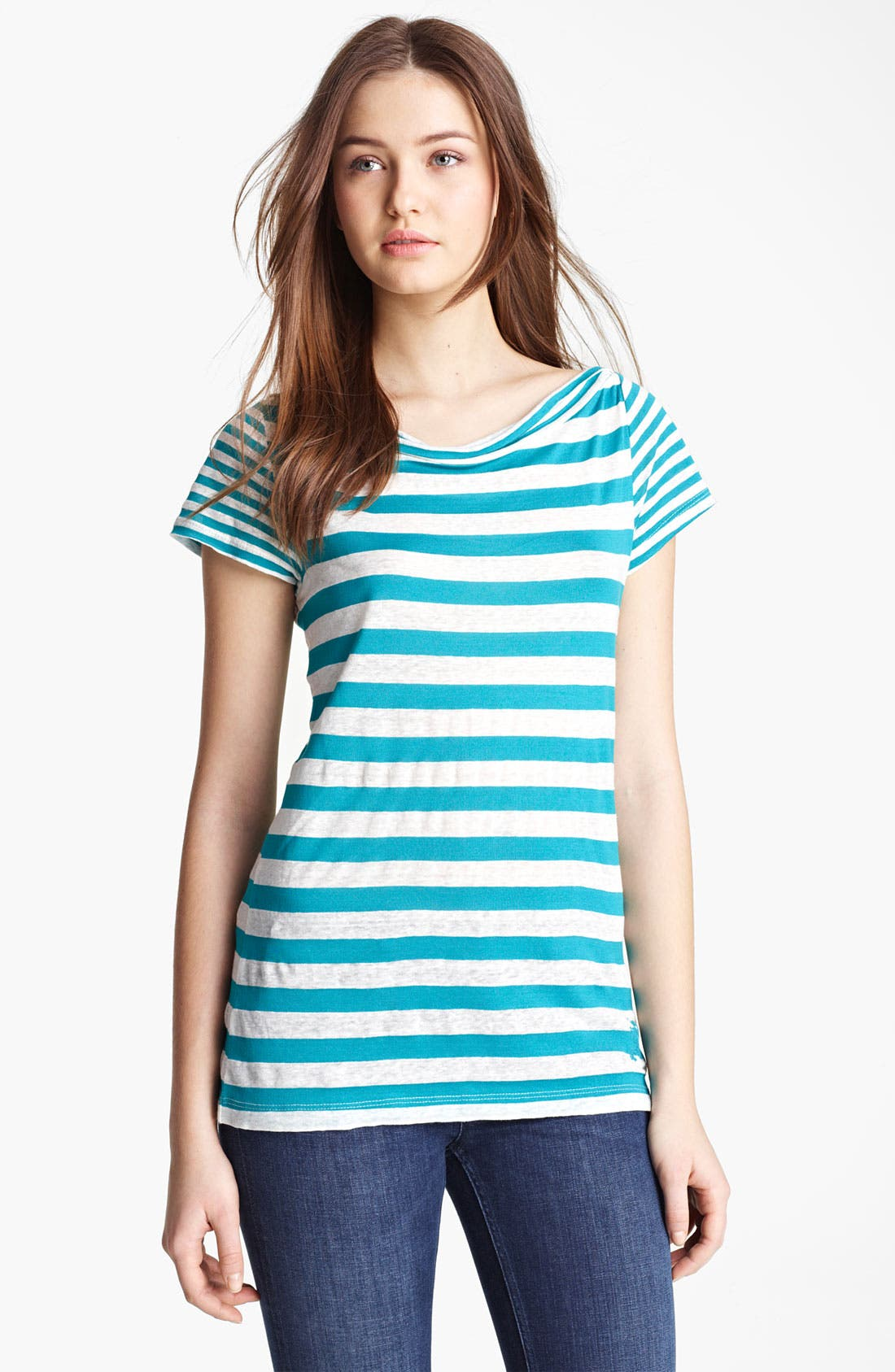 Main Image - Burberry Brit Short Sleeve Stripe Tee