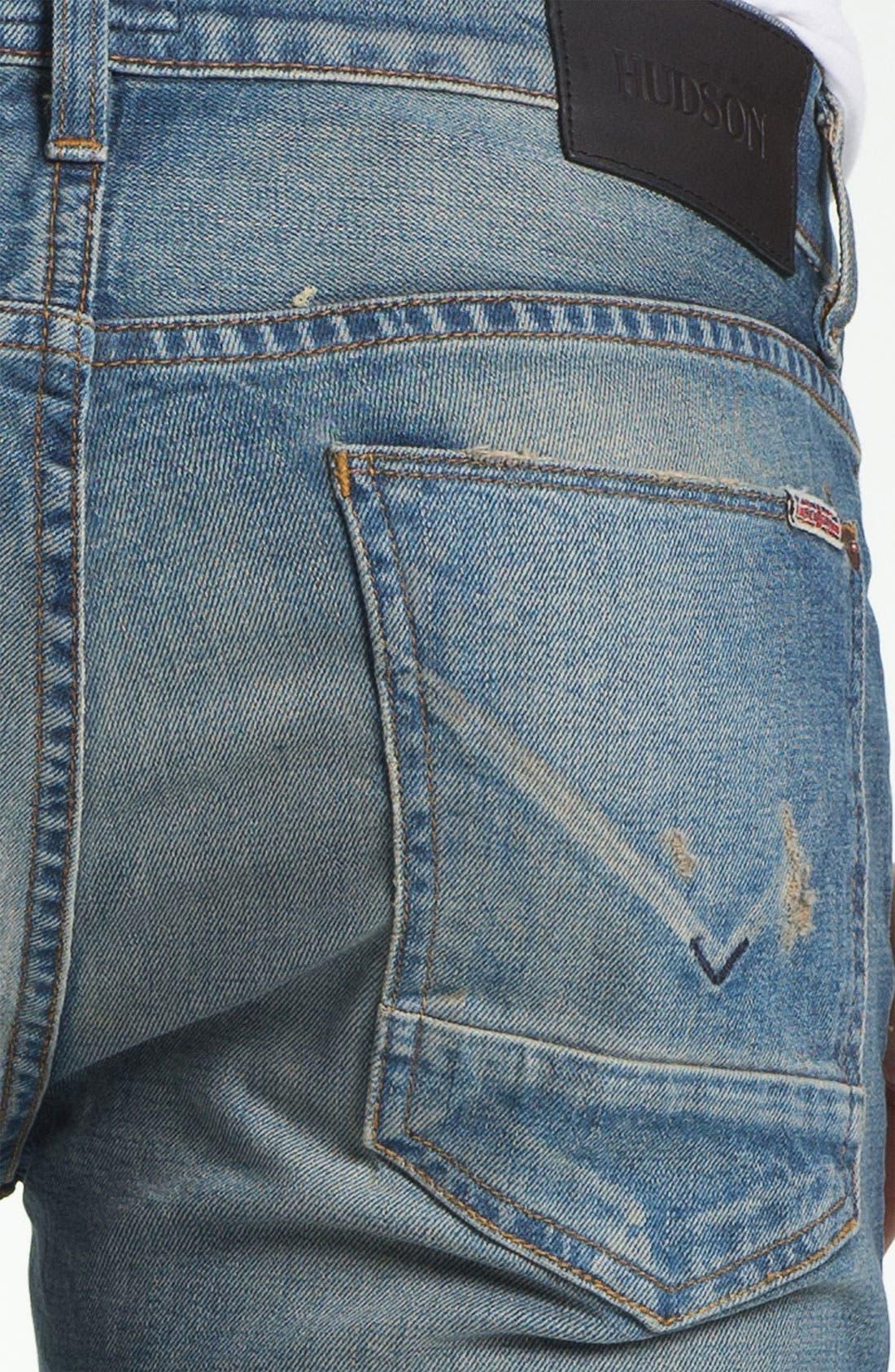 Alternate Image 4  - Hudson Jeans 'Byron' Straight Leg Jeans (Tyler)