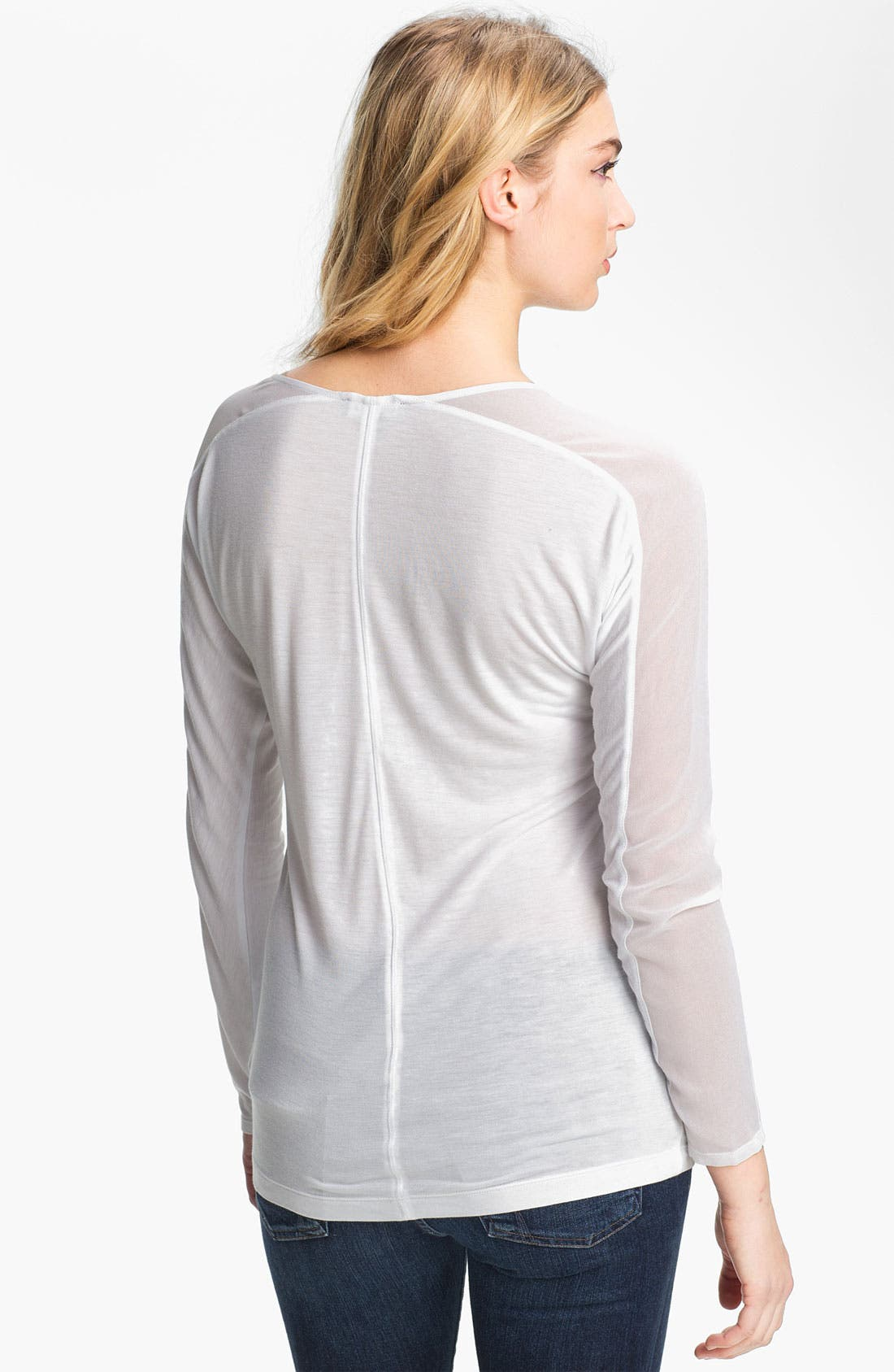 Alternate Image 2  - Trouvé Chiffon Sleeve Top